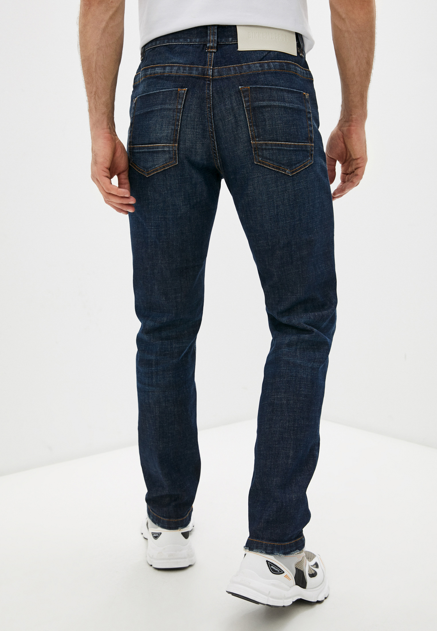 Мужские прямые джинсы Bikkembergs (Биккембергс) C Q 102 03 S 3393: изображение 4