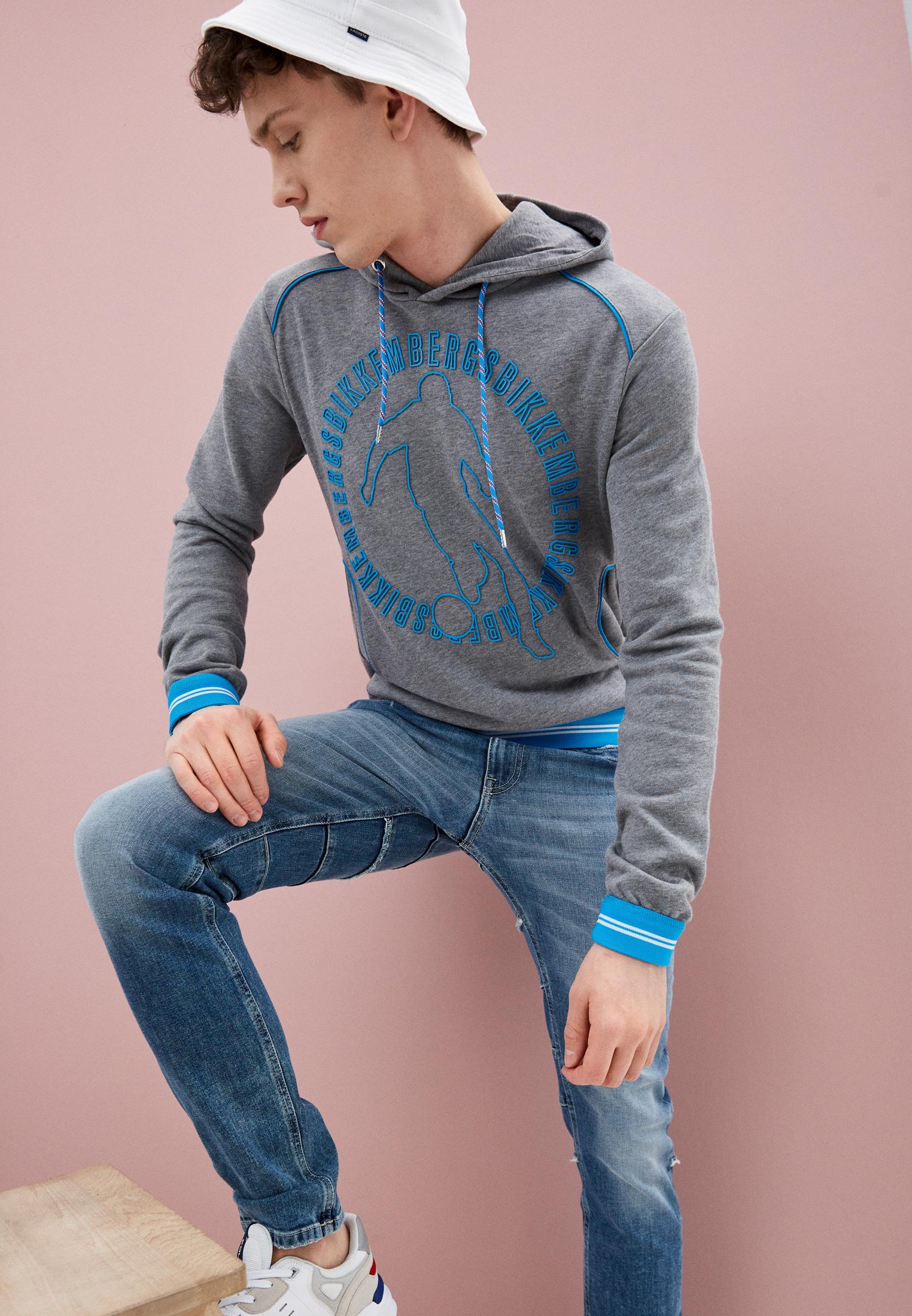 Зауженные джинсы Bikkembergs C Q 104 00 S 3182: изображение 2