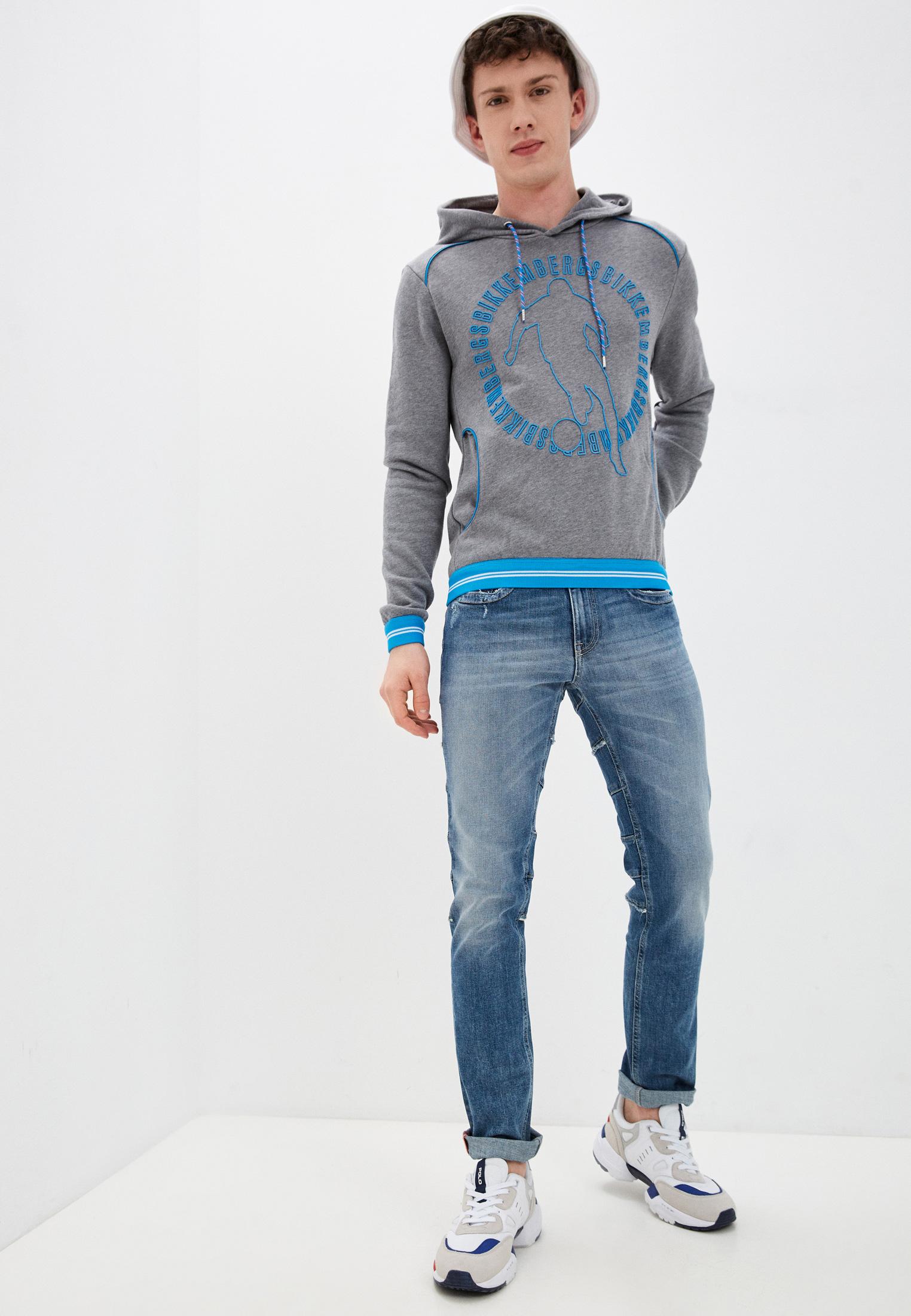 Зауженные джинсы Bikkembergs C Q 104 00 S 3182: изображение 3