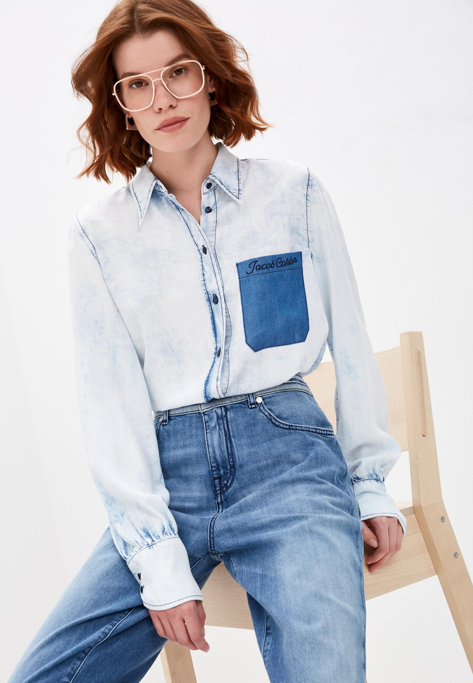 Женские джинсовые рубашки Jacob Cohen Рубашка джинсовая Jacob Cohen