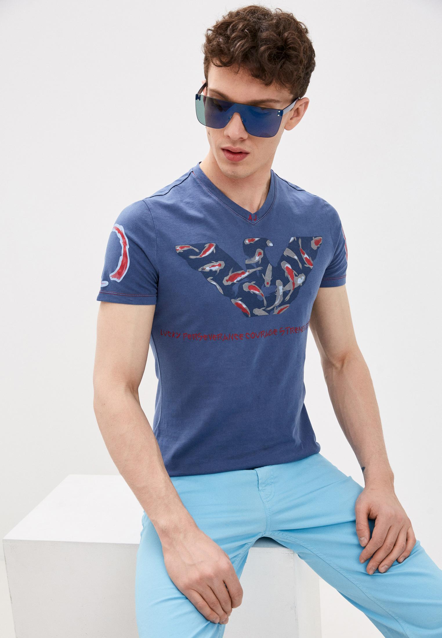 Мужская футболка Armani Jeans (Армани Джинс) 3Y6T696JACZ: изображение 1