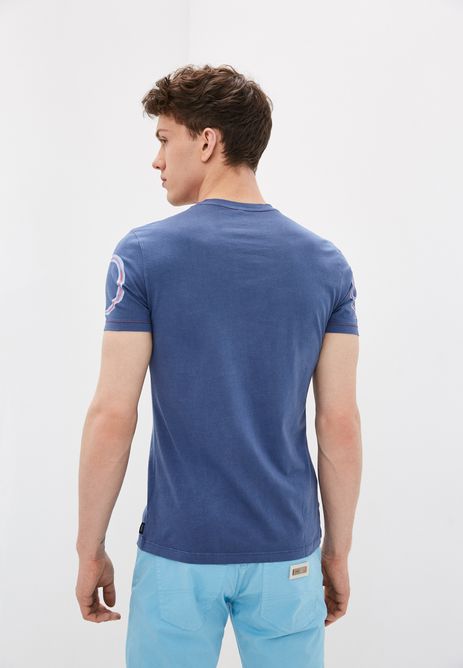 Мужская футболка Armani Jeans (Армани Джинс) 3Y6T696JACZ: изображение 4
