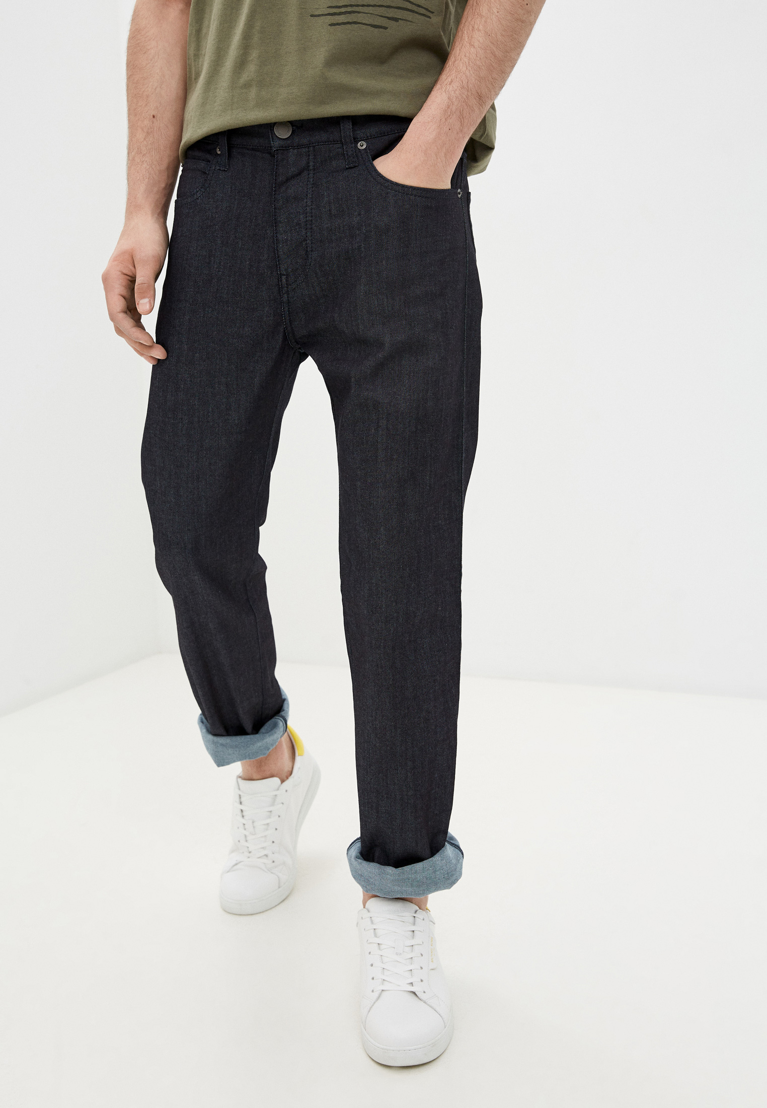 Мужские прямые джинсы Emporio Armani Джинсы Emporio Armani