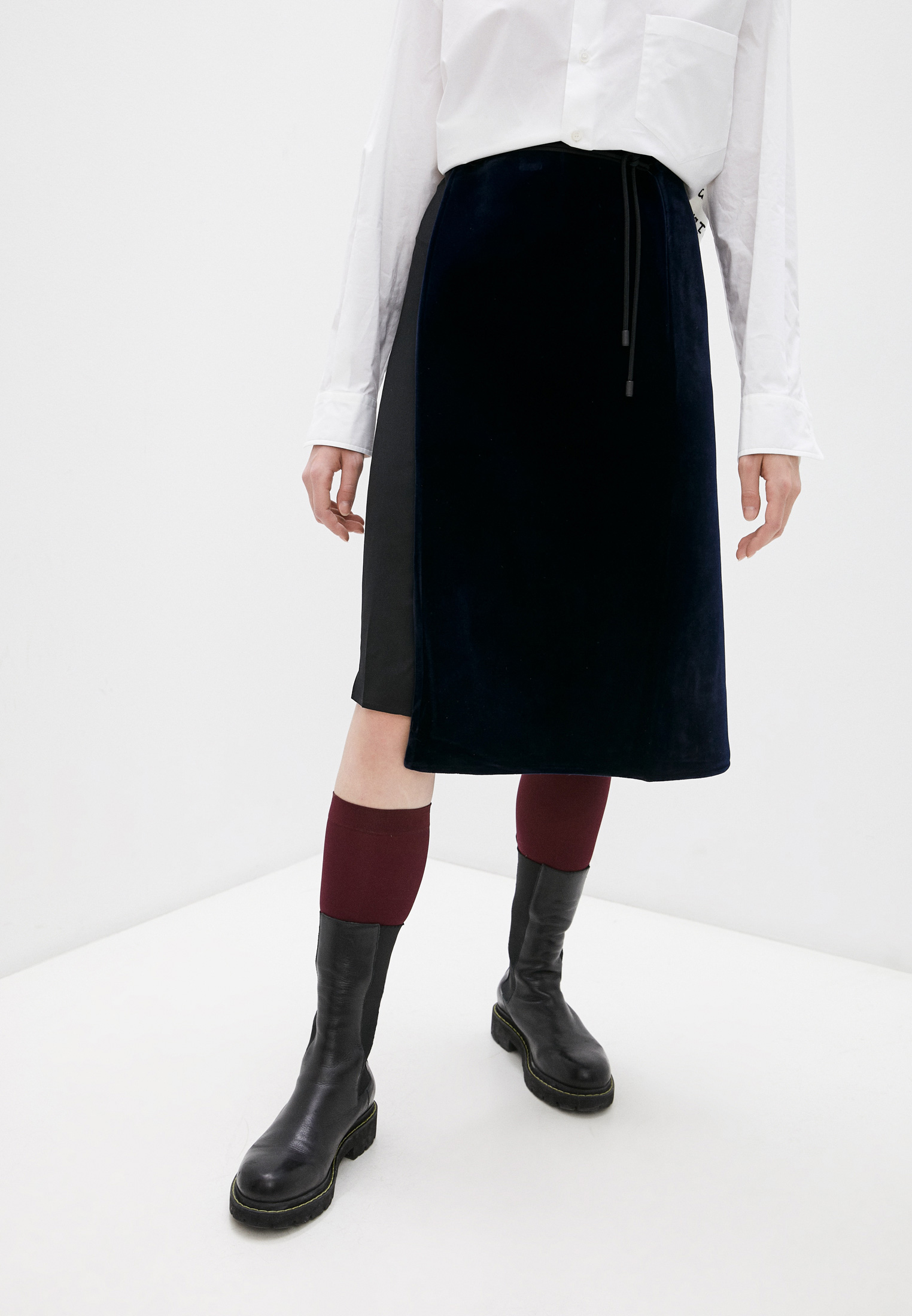 Прямая юбка Maison Margiela Юбка Maison Margiela