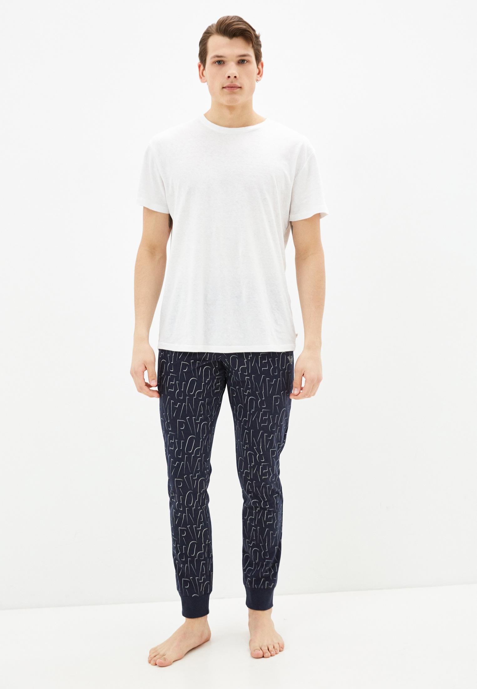 Мужские домашние брюки Emporio Armani 1116901p566: изображение 2