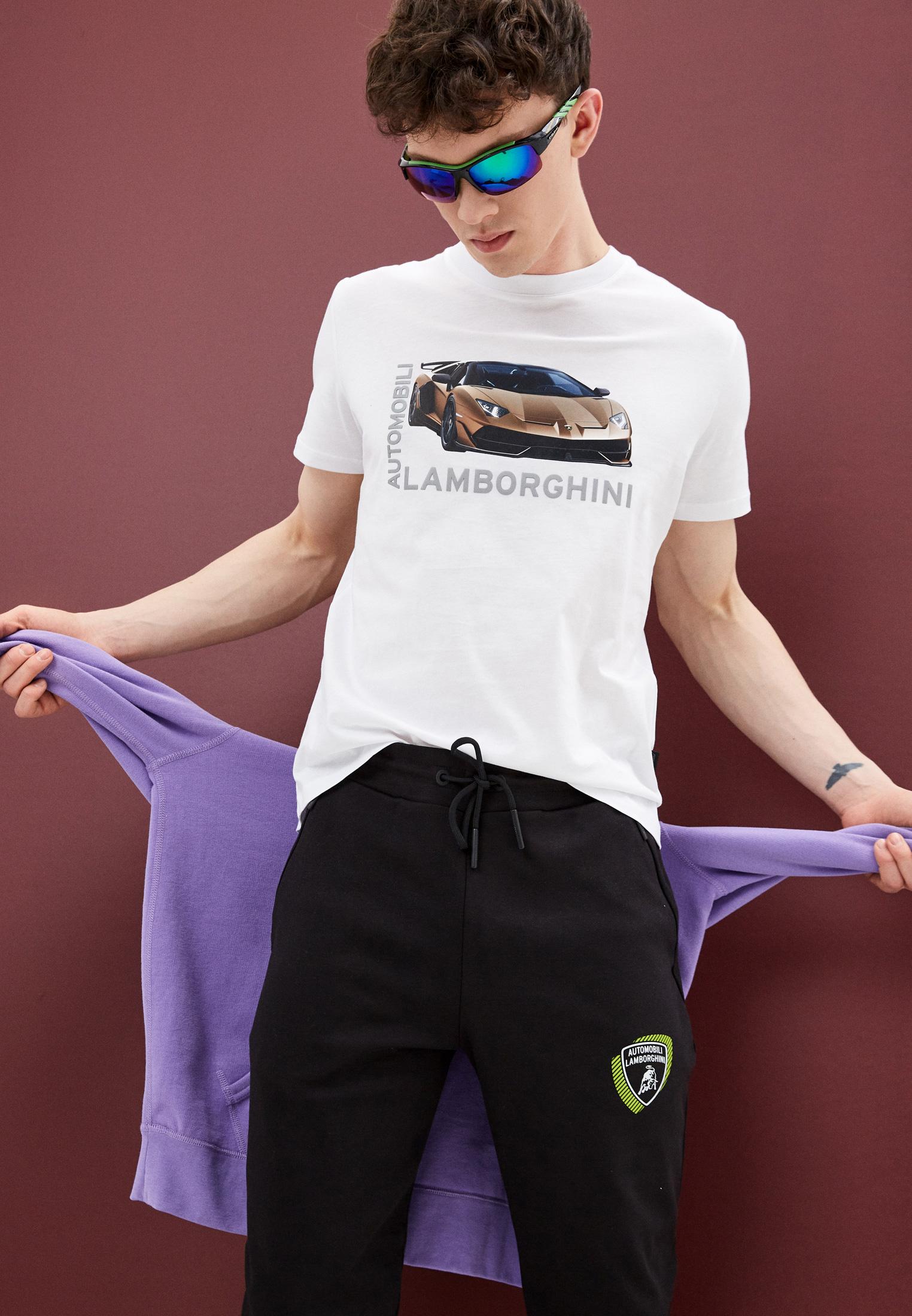 Мужские спортивные брюки Automobili Lamborghini A2XWB1AM30435: изображение 2