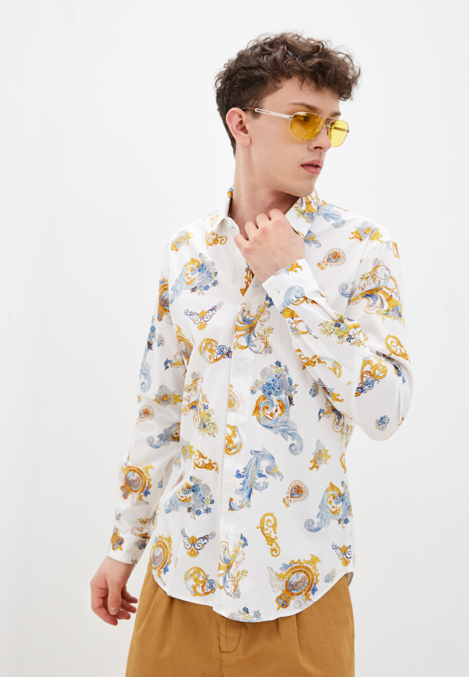 Рубашка с длинным рукавом Versace Jeans Couture B1GWA6S2SR585