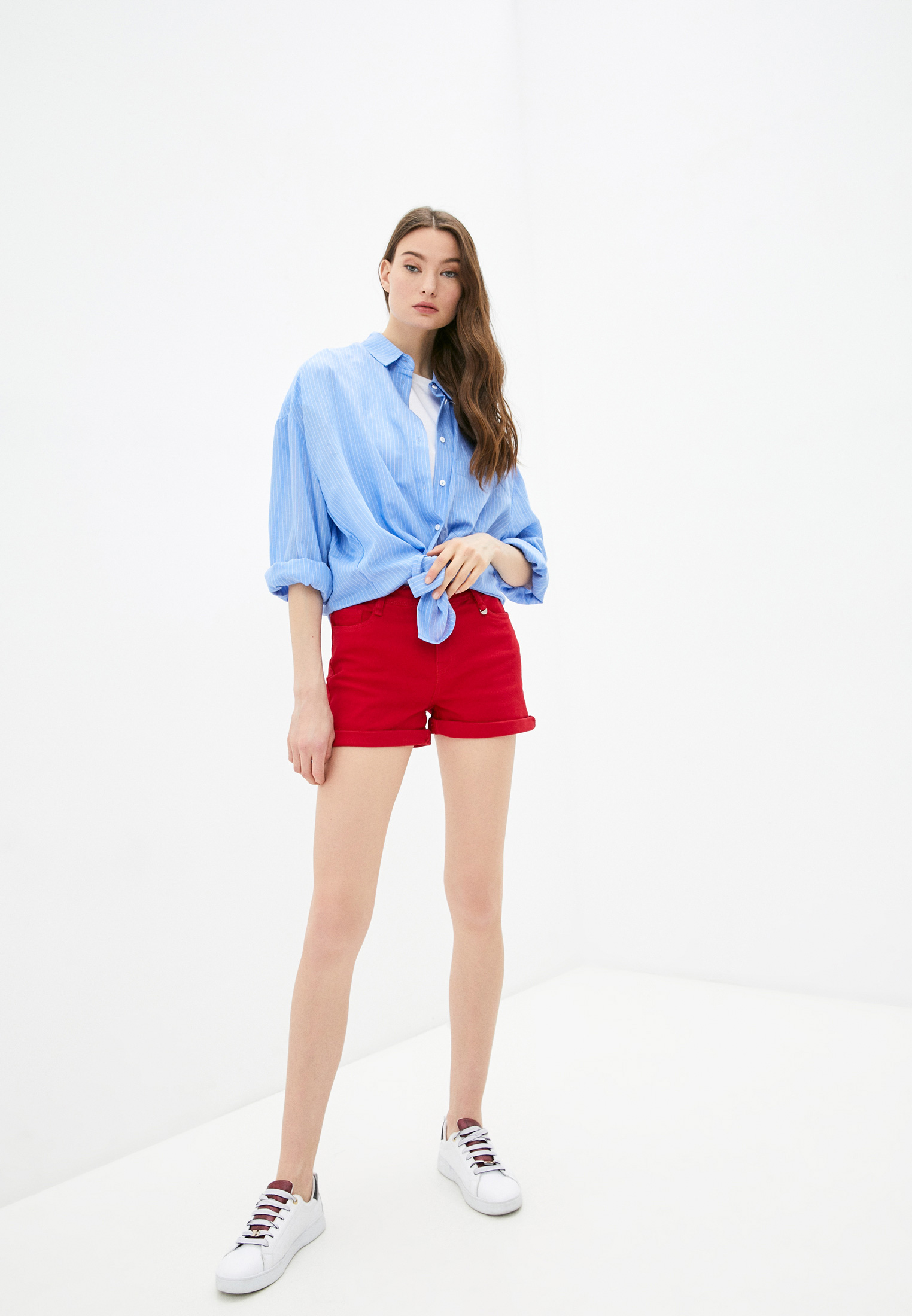 Женские джинсовые шорты Code 250854: изображение 6
