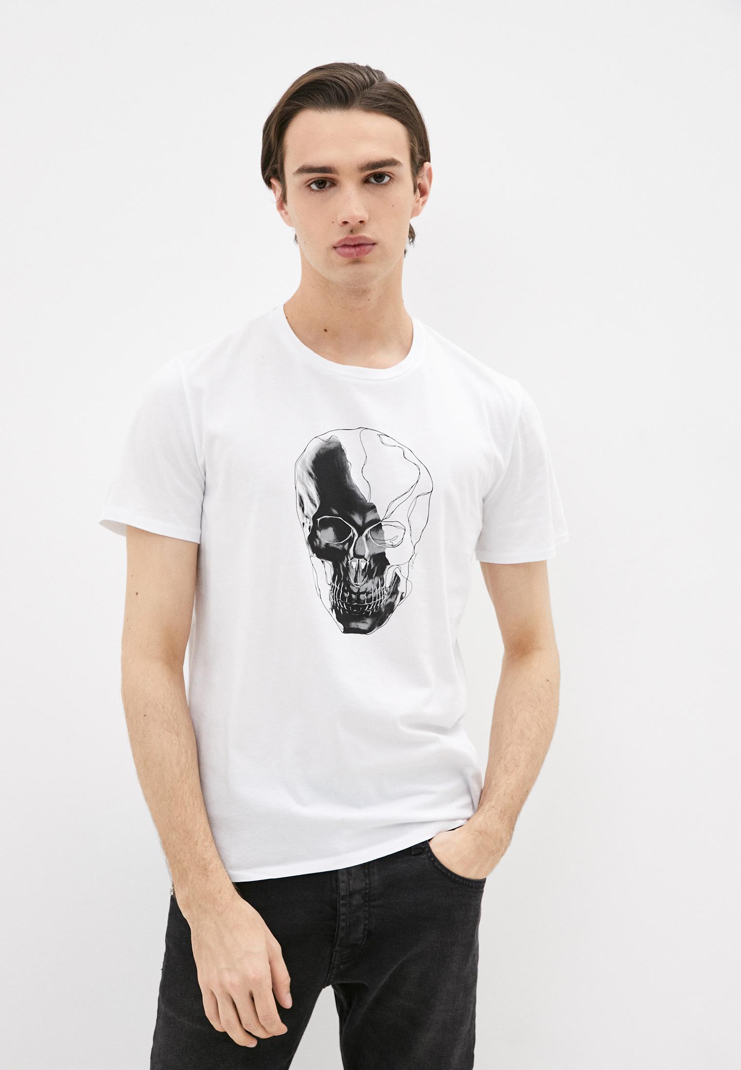 Мужская футболка Just Cavalli (Джаст Кавалли) S03GC0529N20663