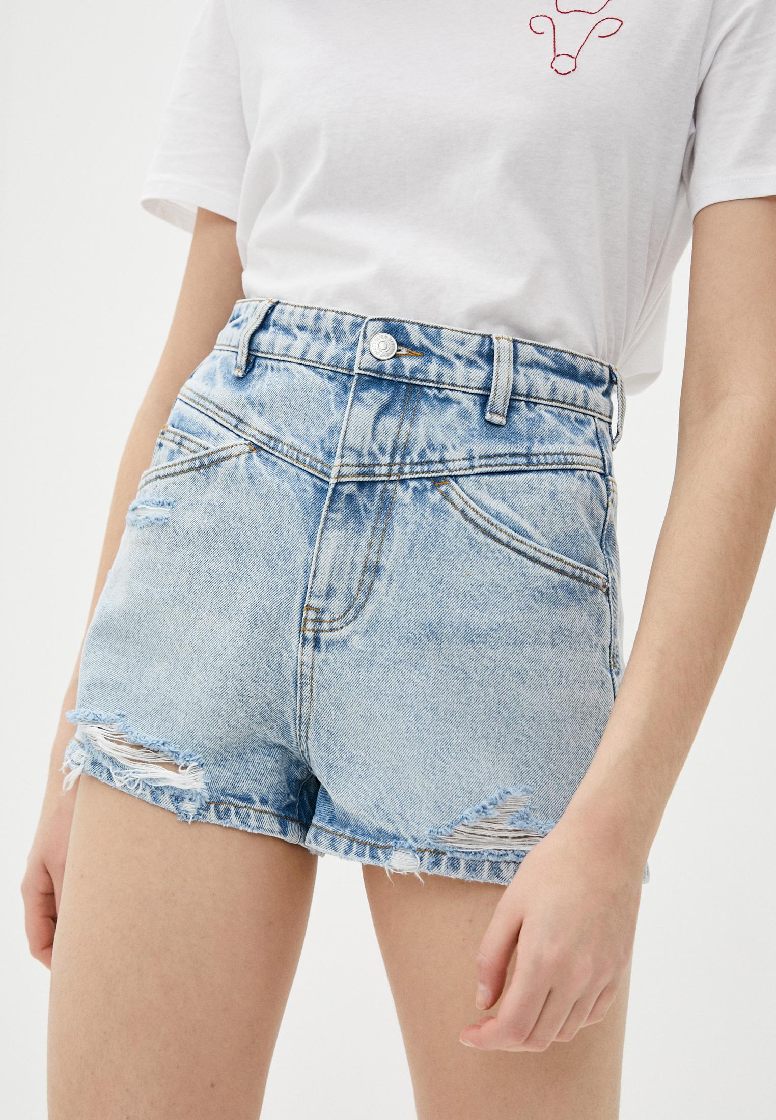 Женские джинсовые шорты Miss Sixty (Мисс Сиксти) 6N2JJ3340000F20