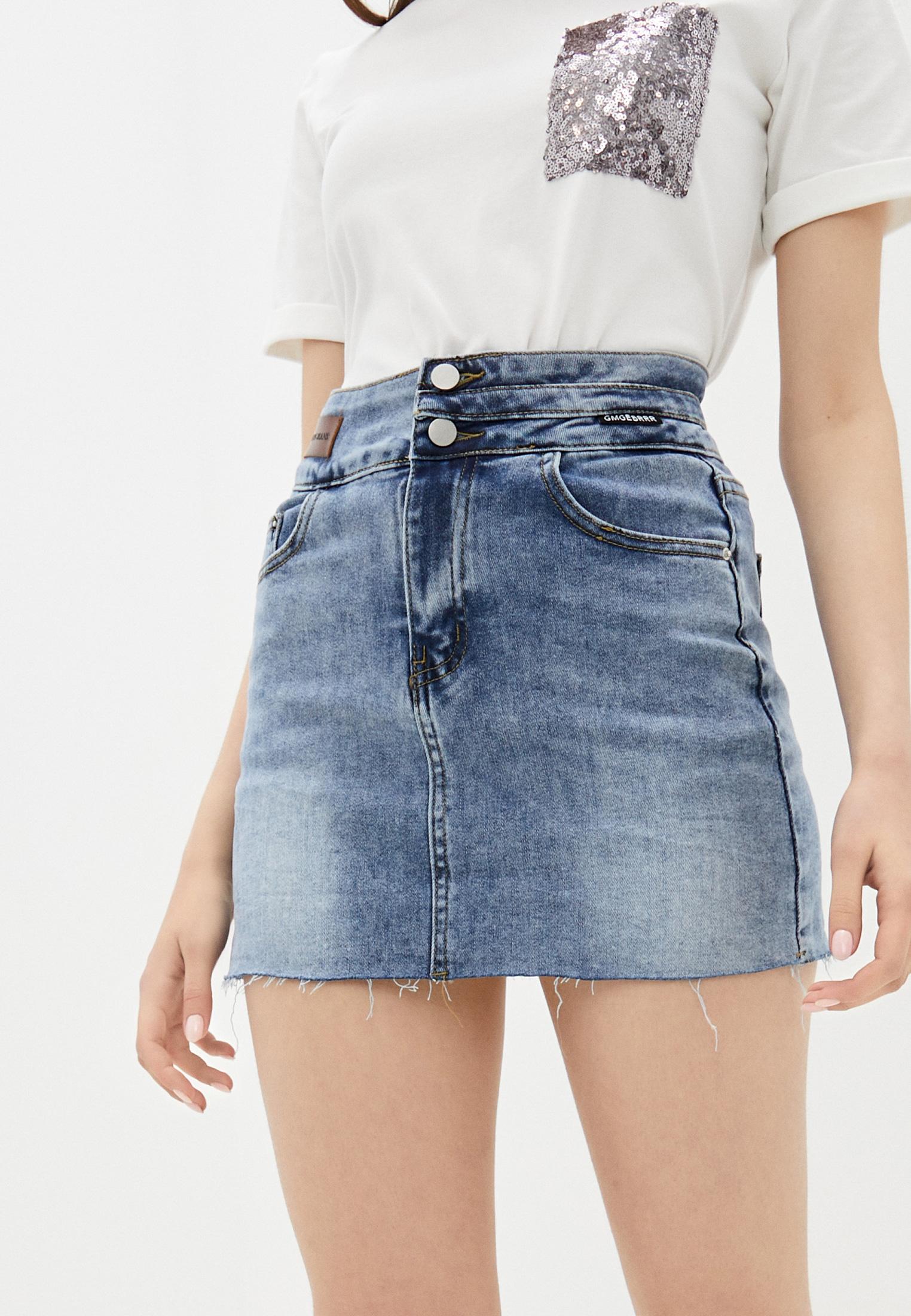 Джинсовая юбка Aaquamarina 92400: изображение 1