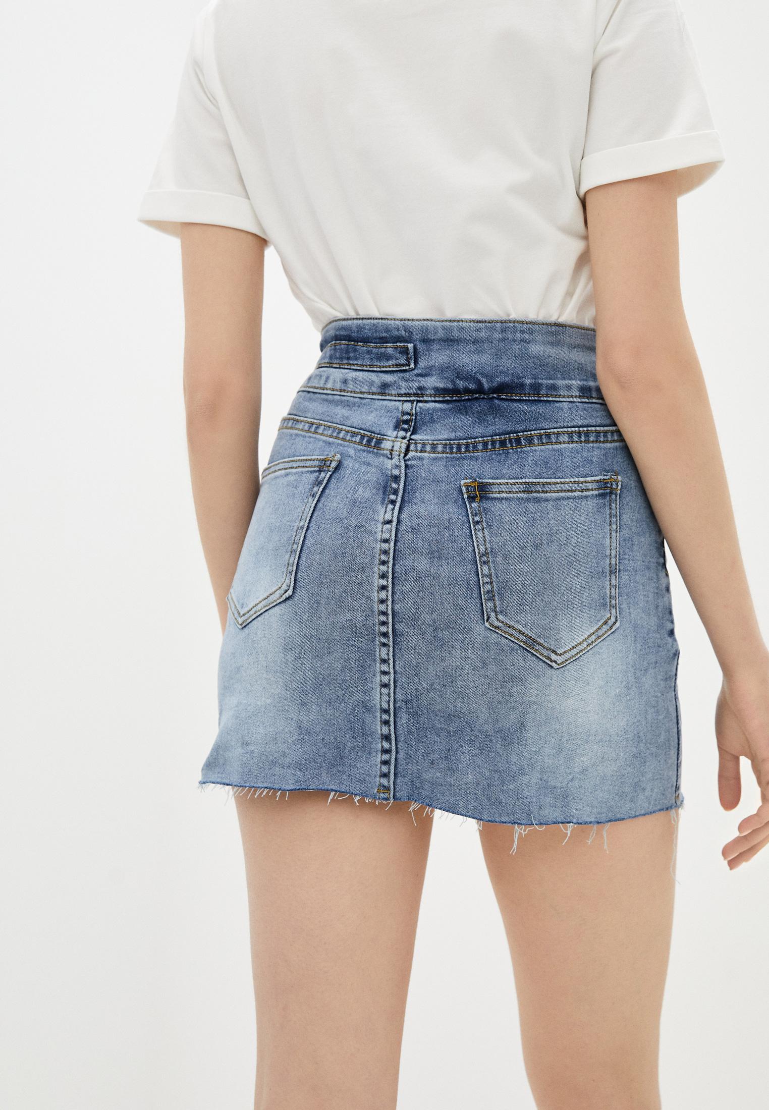 Джинсовая юбка Aaquamarina 92400: изображение 3
