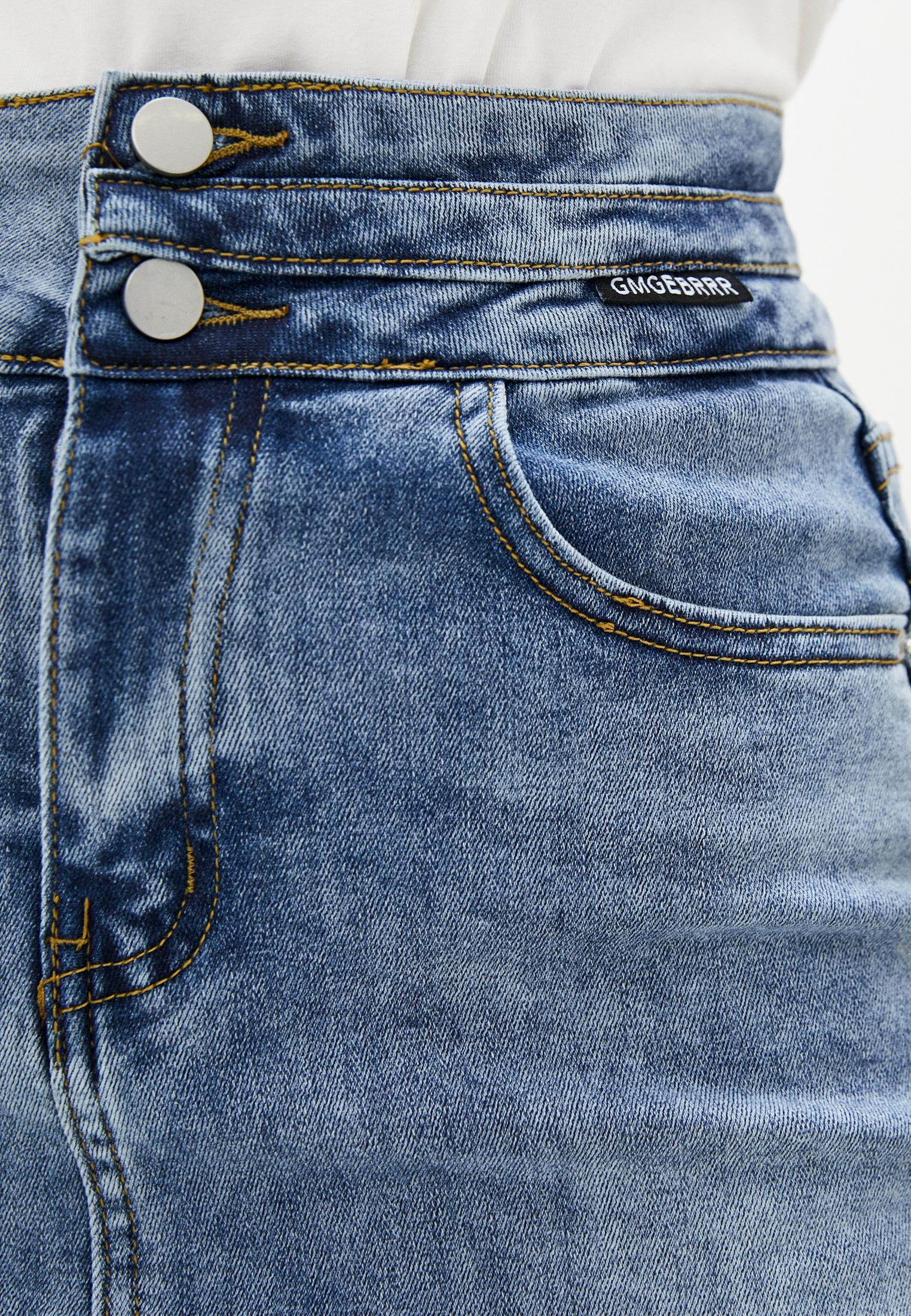 Джинсовая юбка Aaquamarina 92400: изображение 4