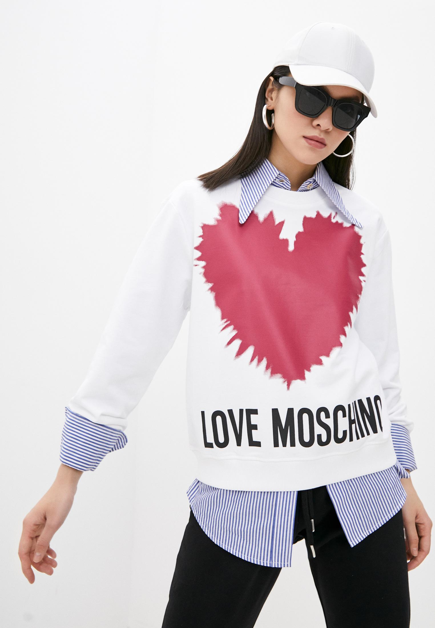 Свитер Love Moschino Свитшот Love Moschino