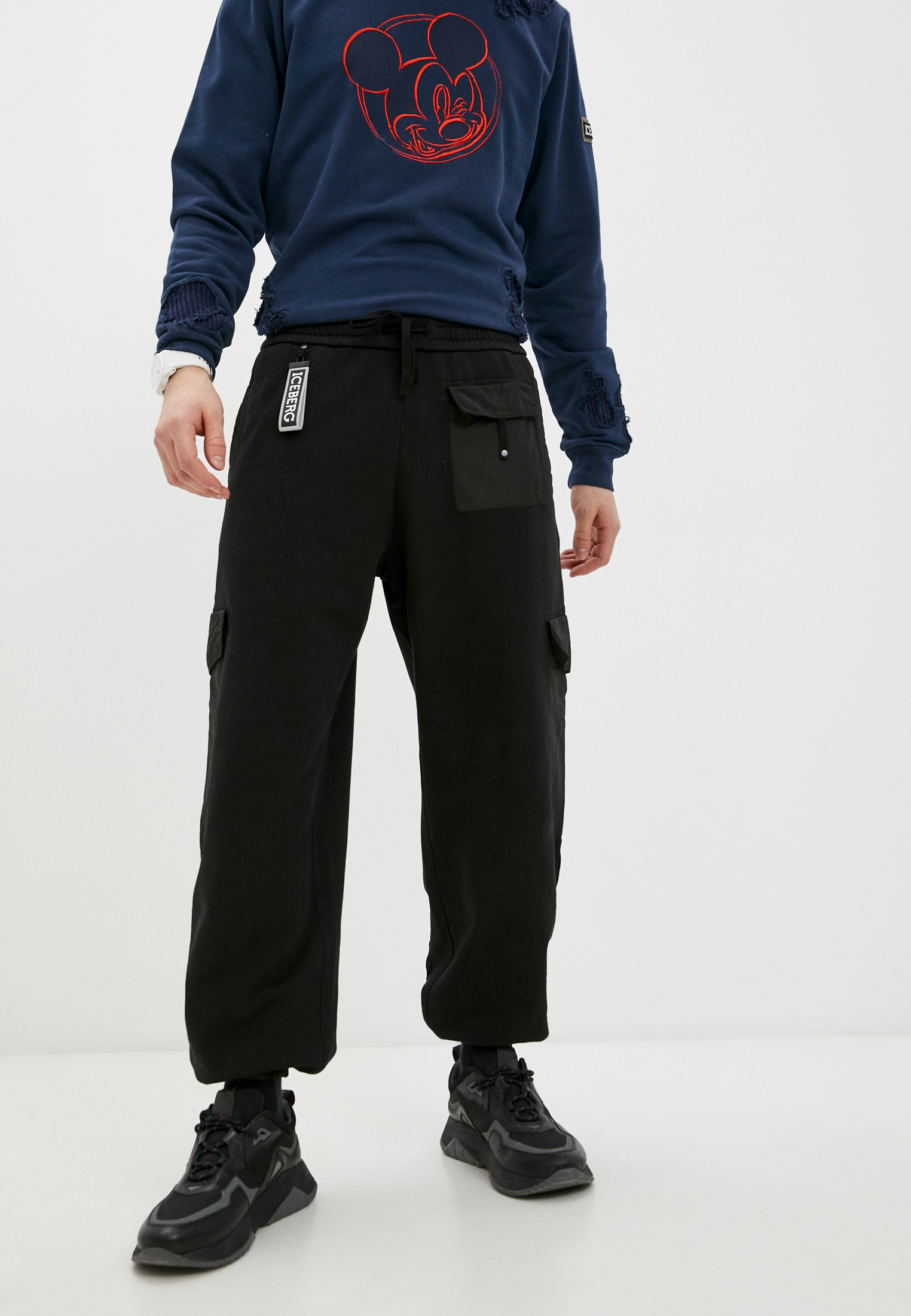 Мужские повседневные брюки Iceberg (Айсберг) I1PB1204057