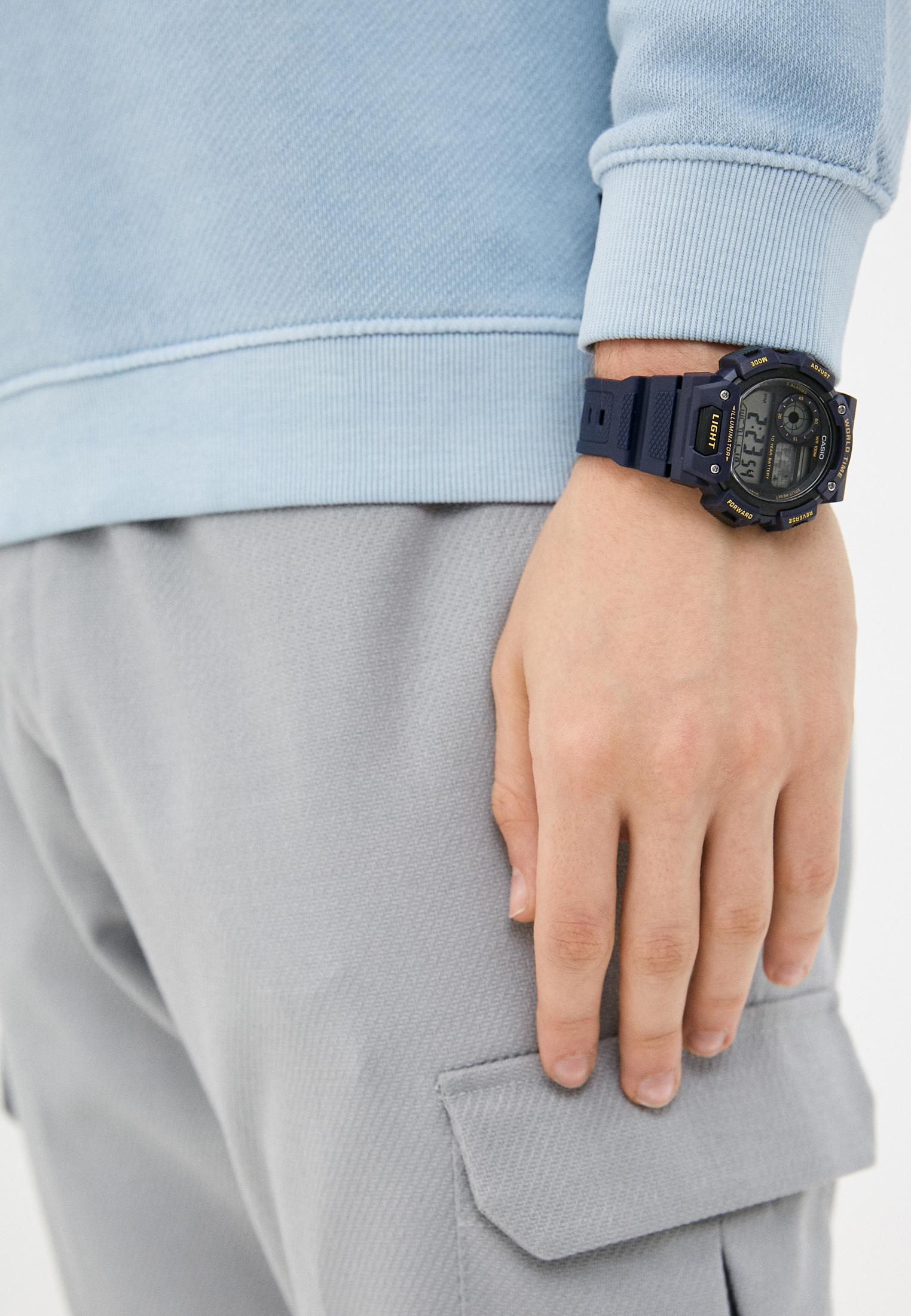 Мужские часы Casio AE-1400WH-2AVEF: изображение 4
