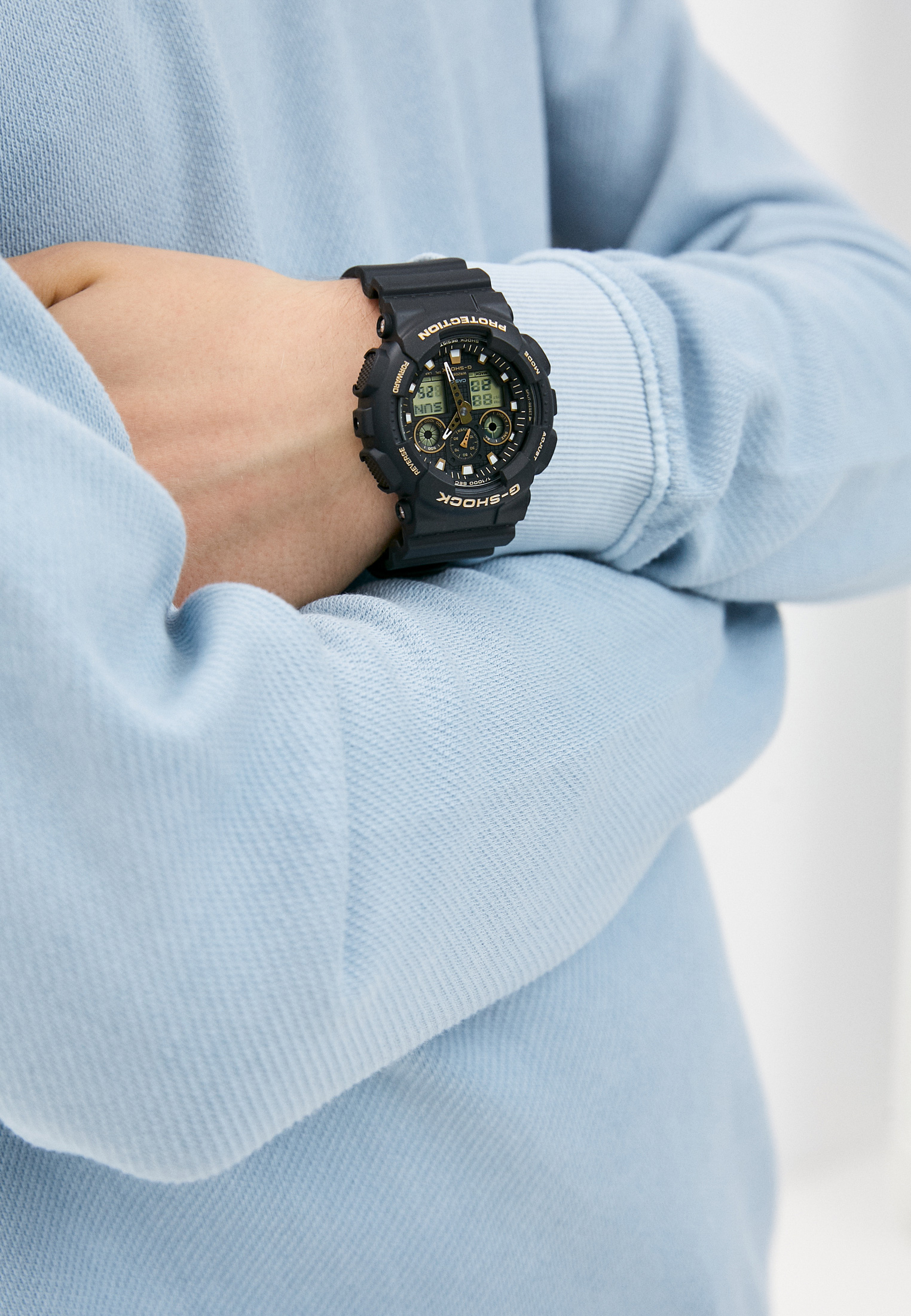 Часы Casio GA-100GBX-1A9: изображение 5