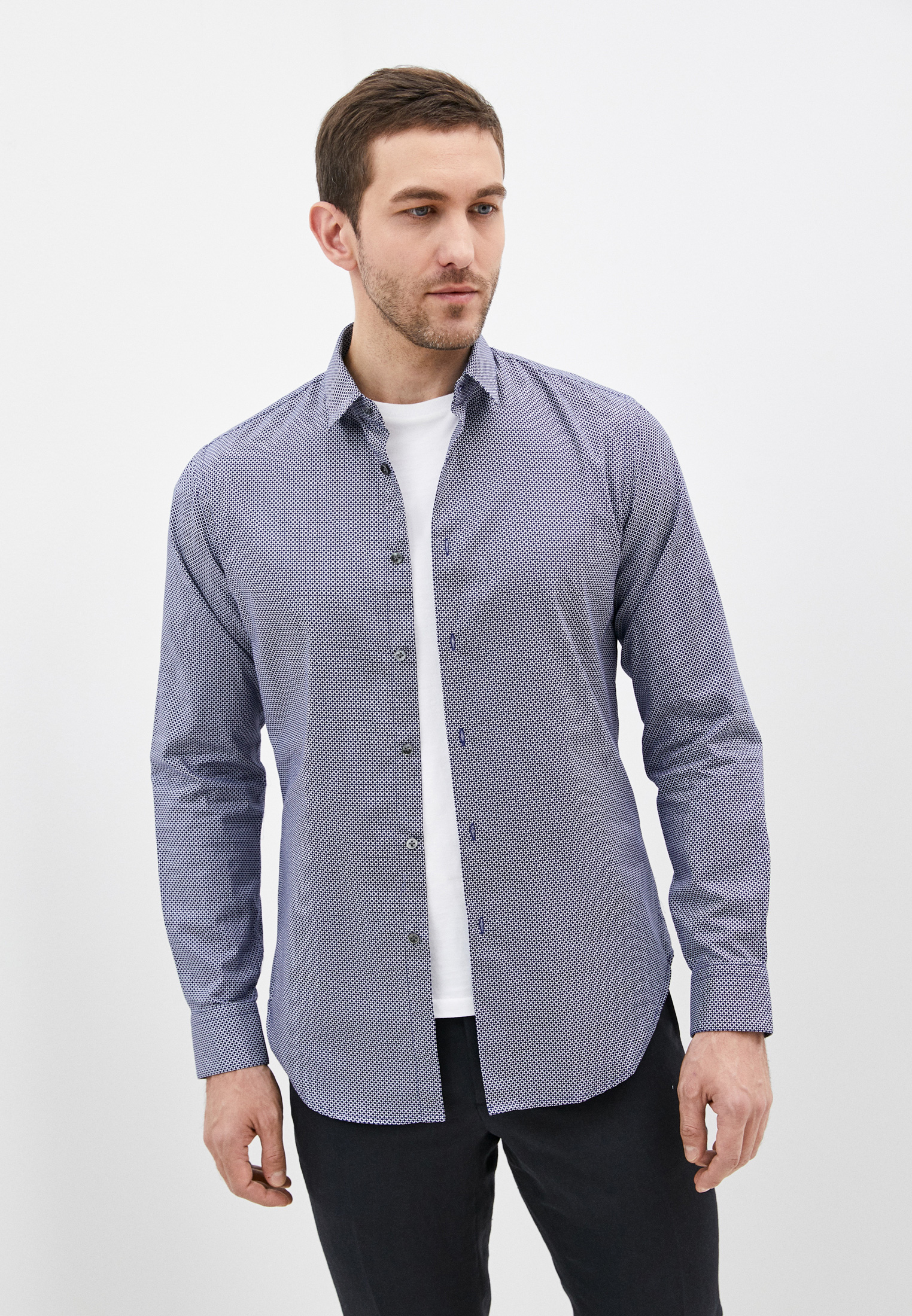 Рубашка с длинным рукавом Pal Zileri S370G78S---E0905