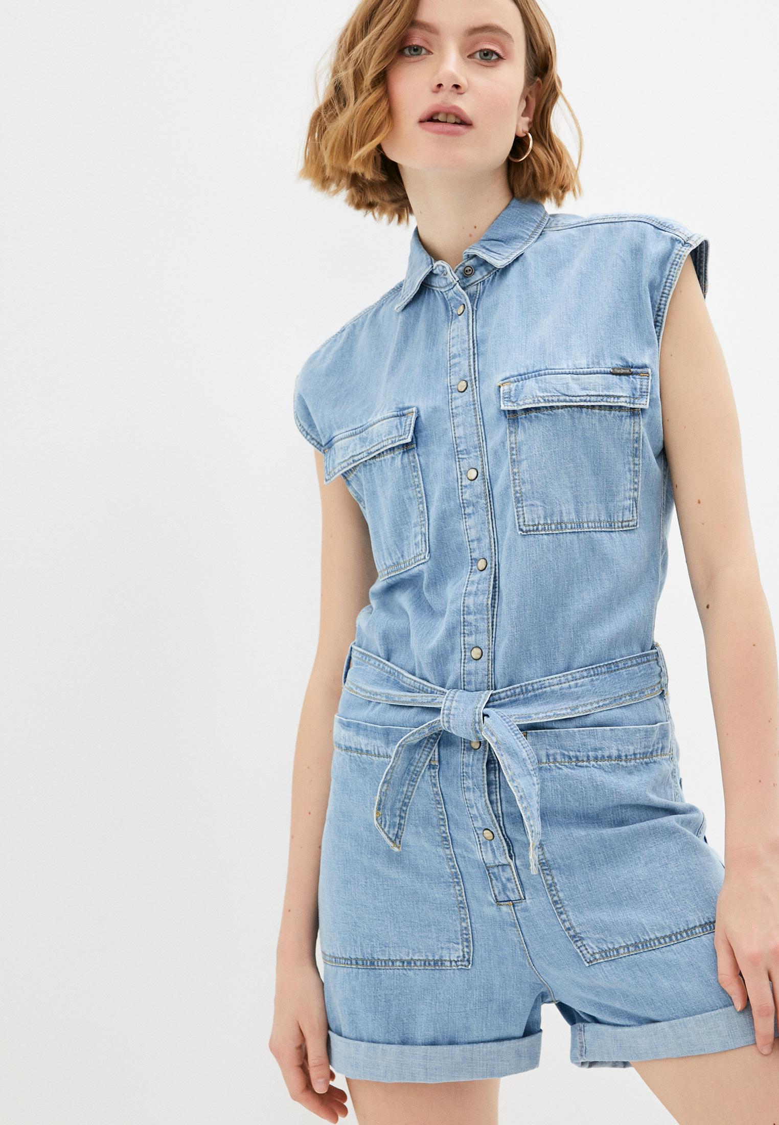 Комбинезон Pepe Jeans (Пепе Джинс) Комбинезон джинсовый Pepe Jeans