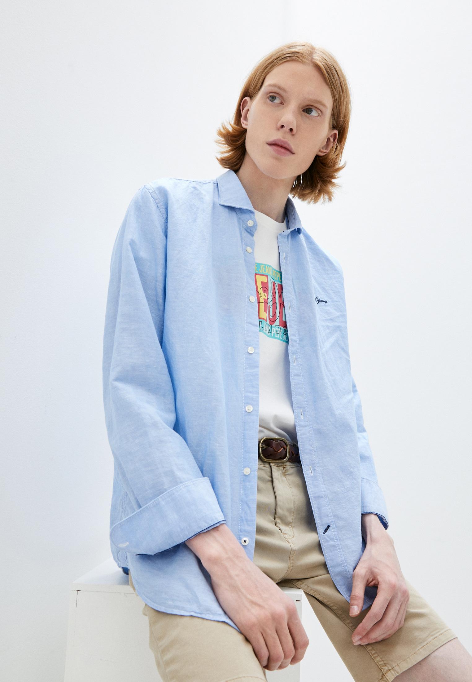 Рубашка с длинным рукавом Pepe Jeans (Пепе Джинс) Рубашка Pepe Jeans
