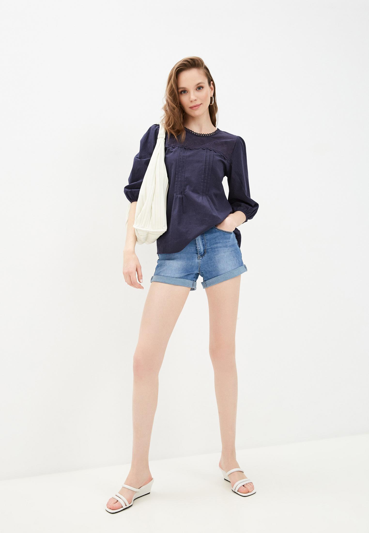 Женские джинсовые шорты Bruebeck 77885: изображение 2