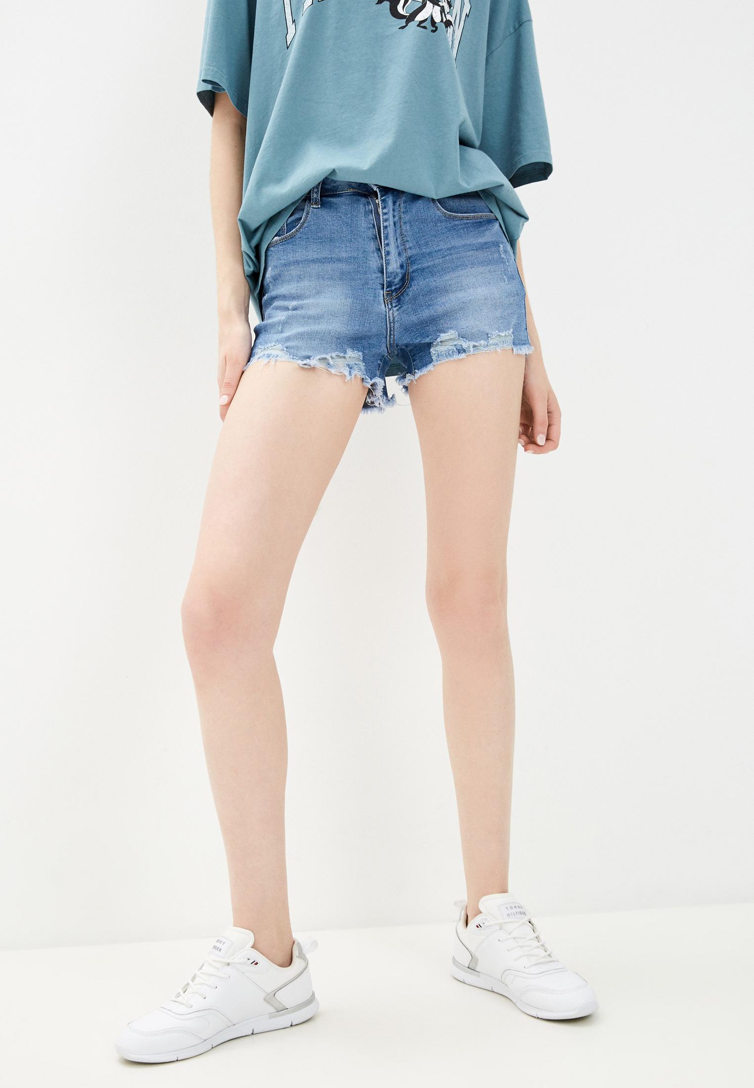 Женские джинсовые шорты Bruebeck 77895