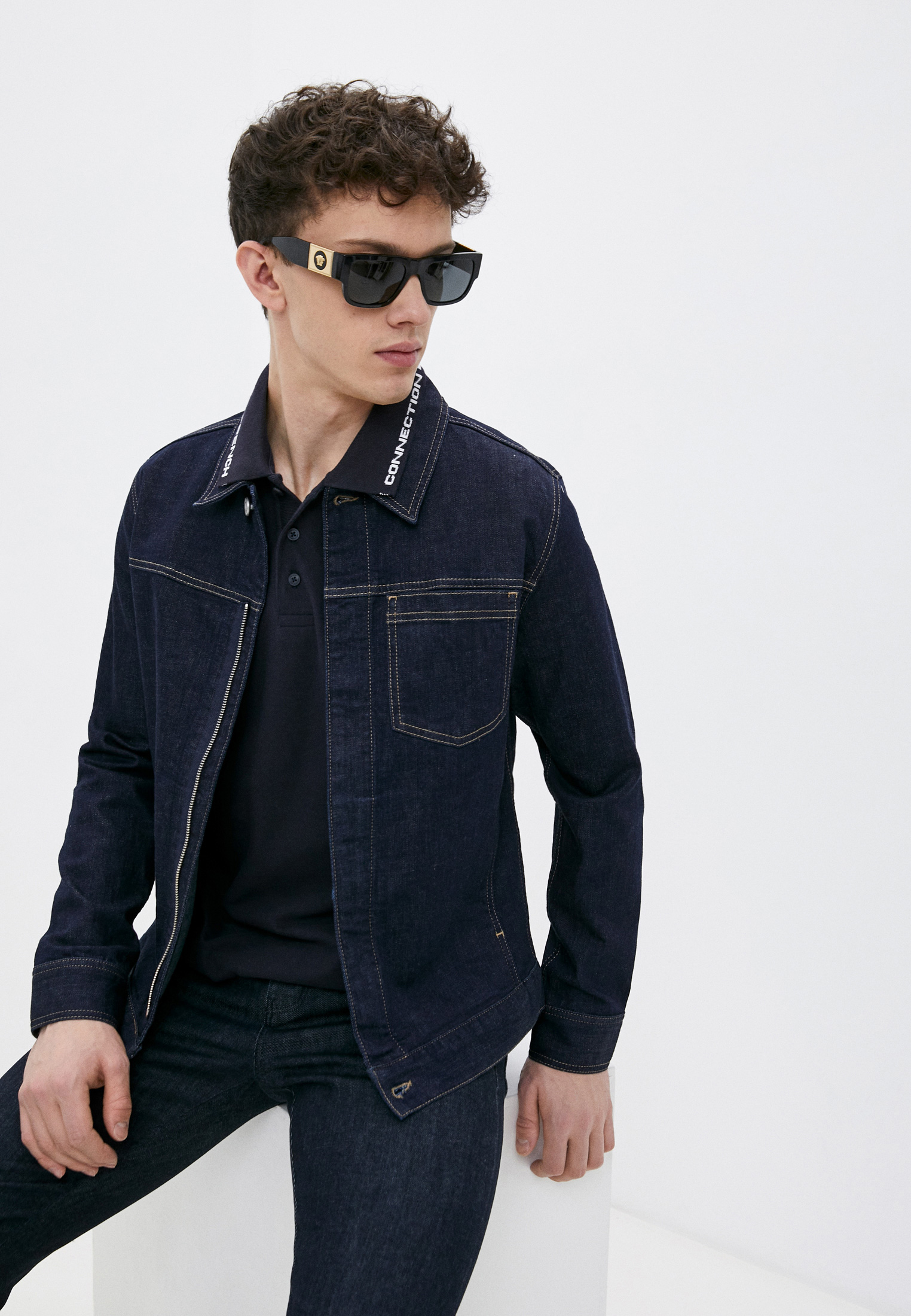 Джинсовая куртка French Connection 55QAX