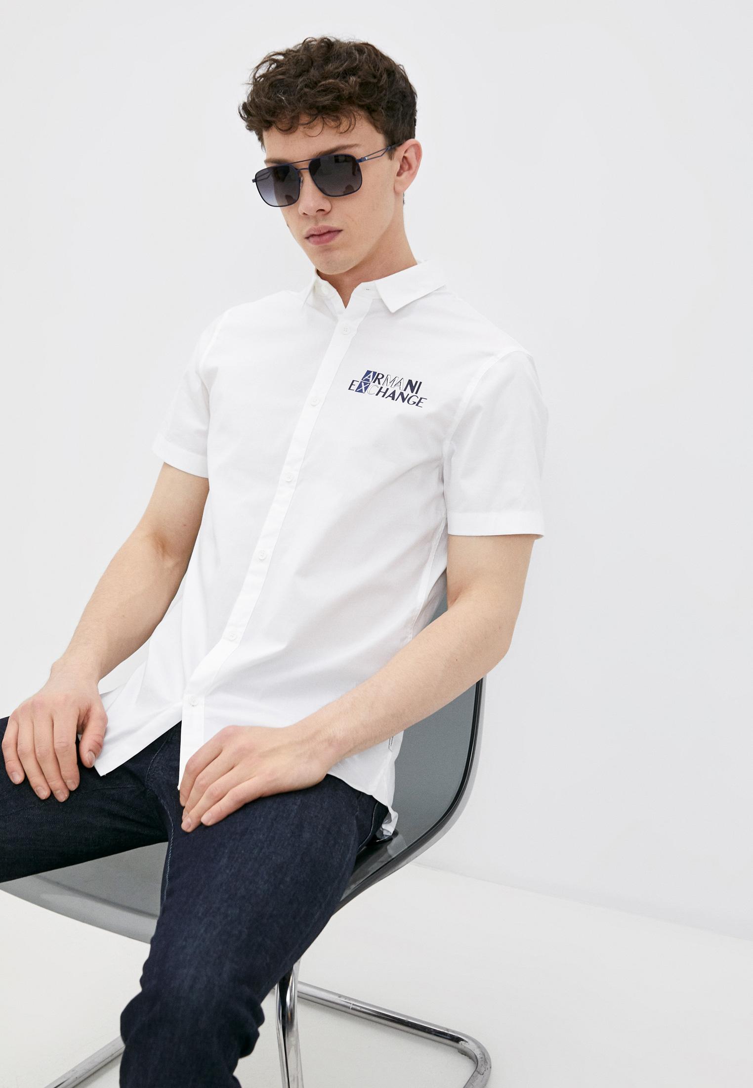 Рубашка с коротким рукавом Armani Exchange 3KZC32ZNQFZ: изображение 1