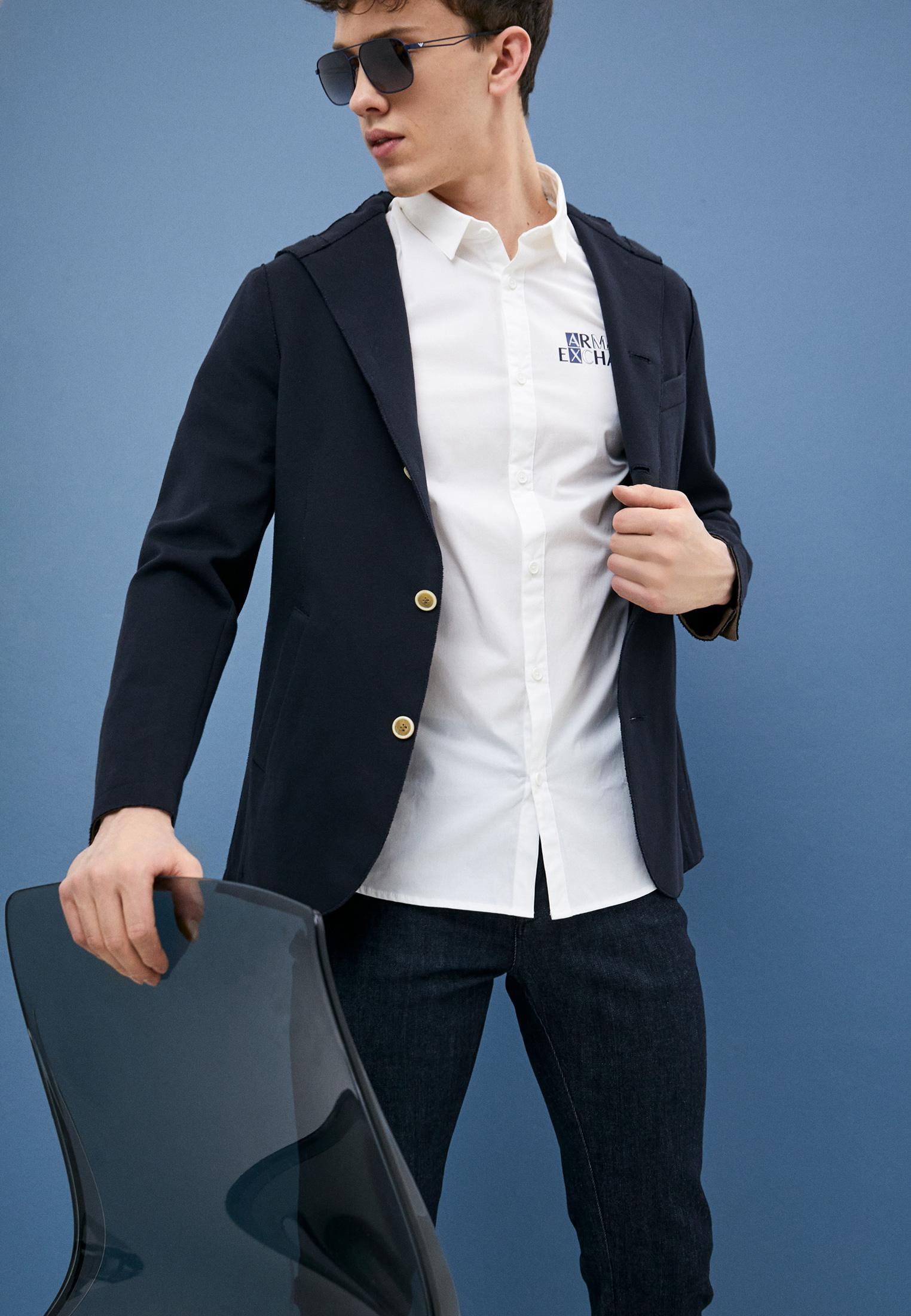 Рубашка с коротким рукавом Armani Exchange 3KZC32ZNQFZ: изображение 2