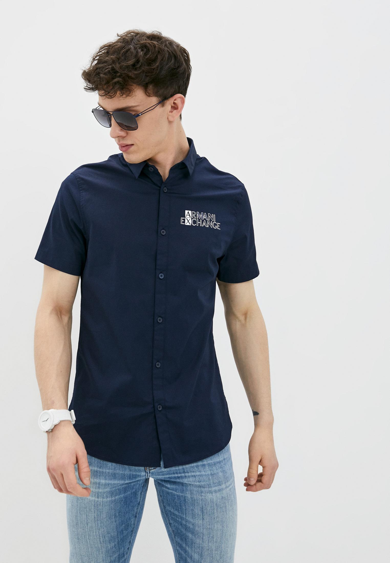 Рубашка с коротким рукавом Armani Exchange Рубашка Armani Exchange