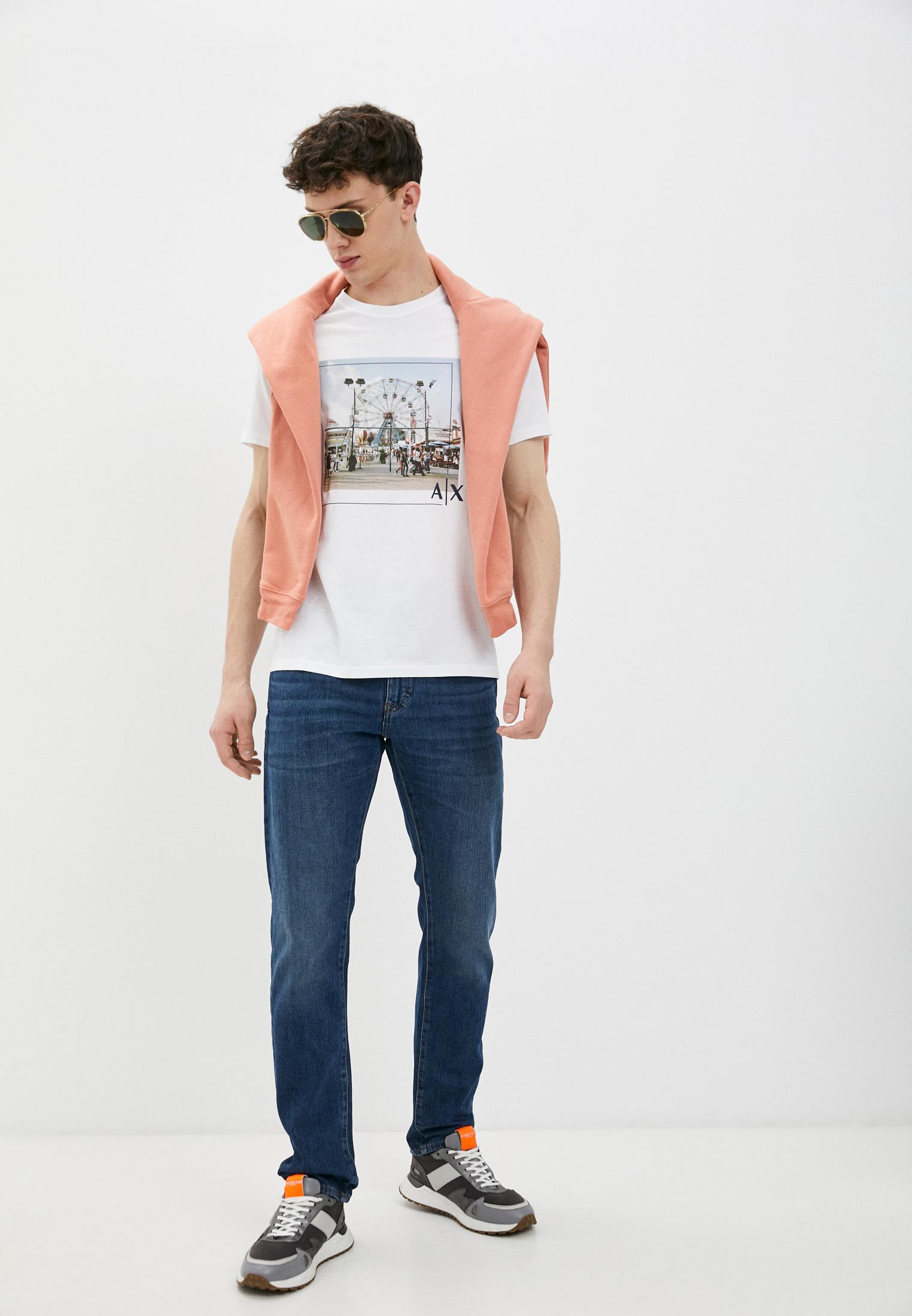 Мужские прямые джинсы Armani Exchange 3KZJ13Z1FDZ: изображение 3
