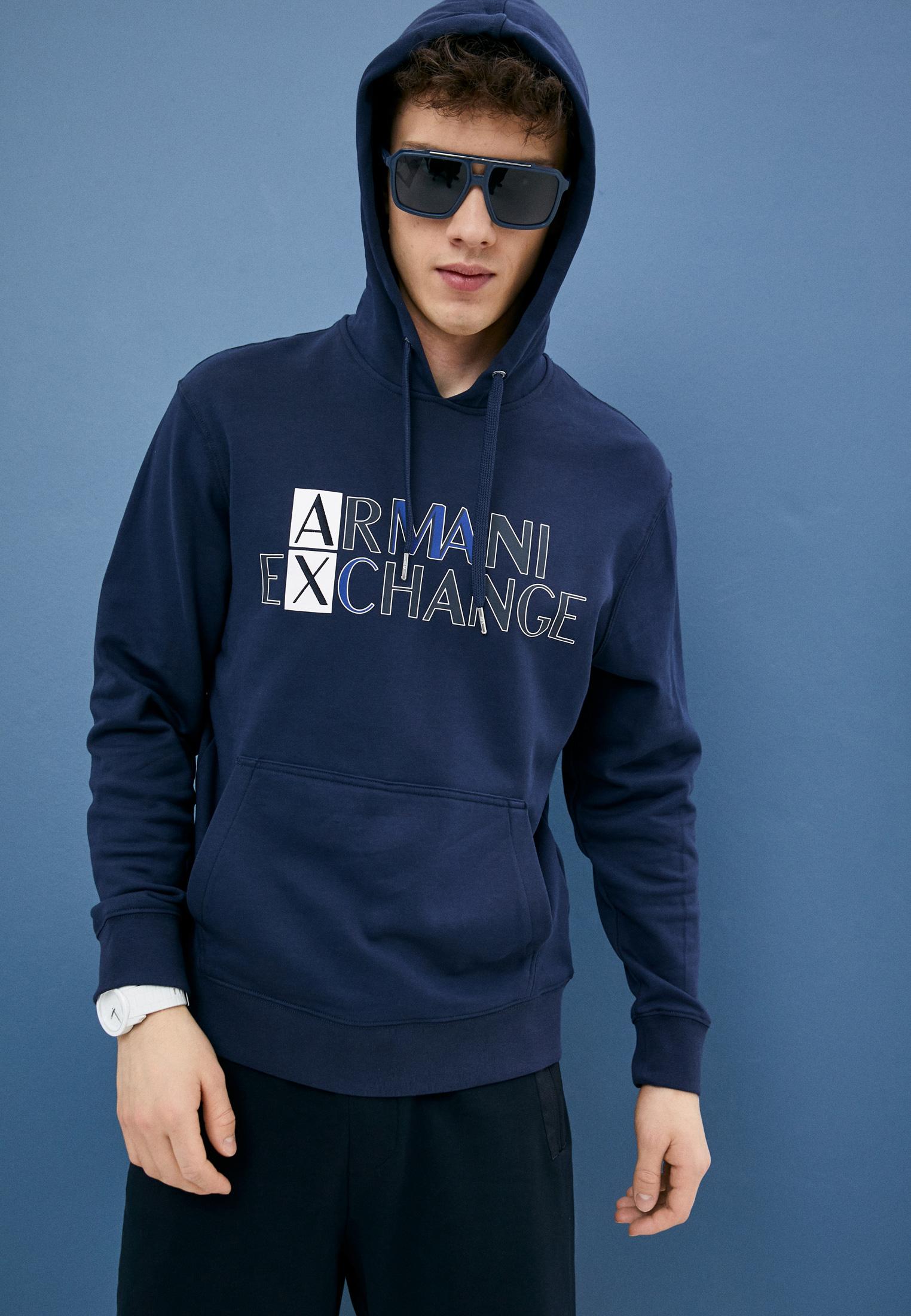 Мужские худи Armani Exchange 3KZMGLZJ8MZ: изображение 2
