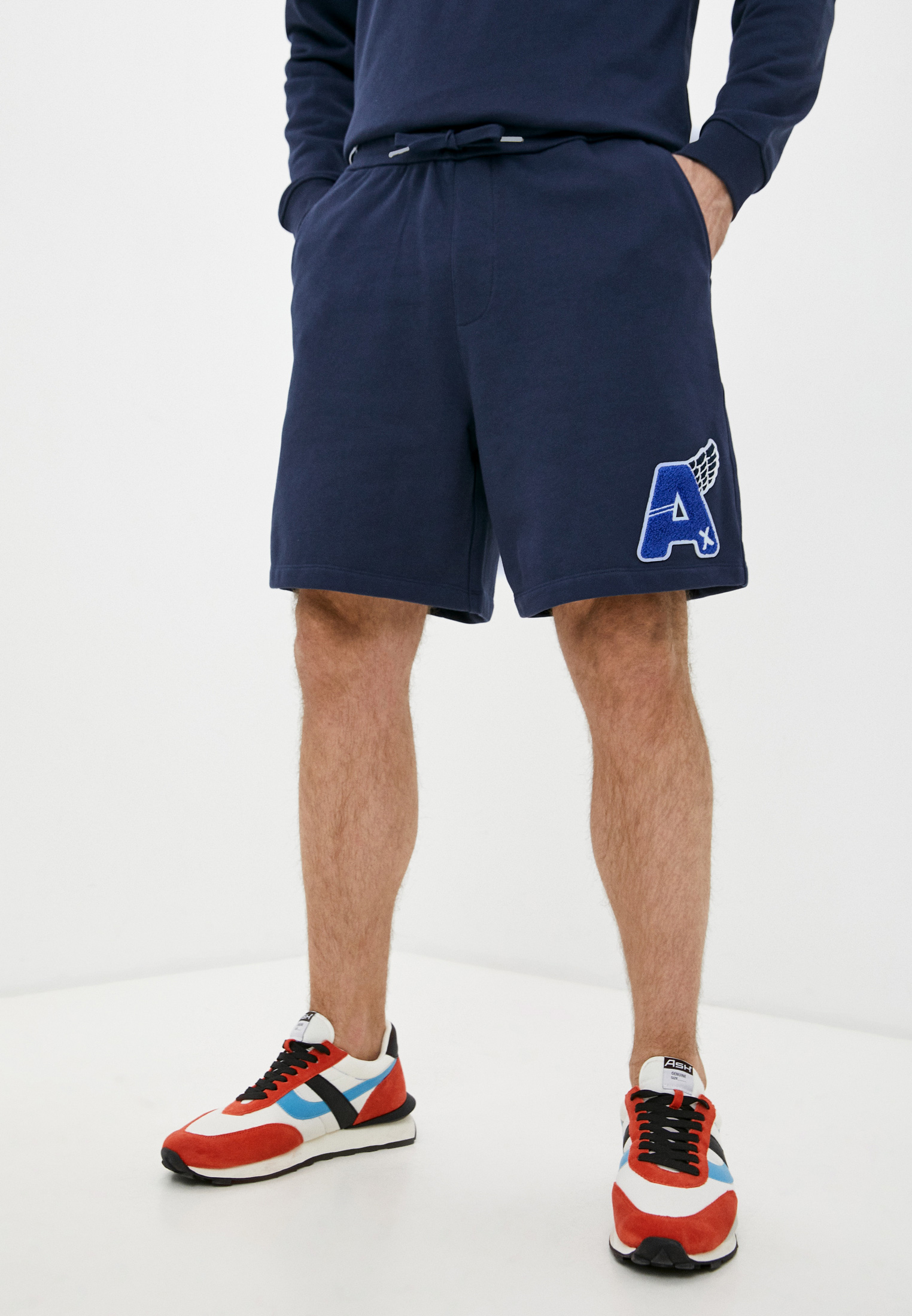 Мужские повседневные шорты Armani Exchange 3KZSFX ZJ2RZ