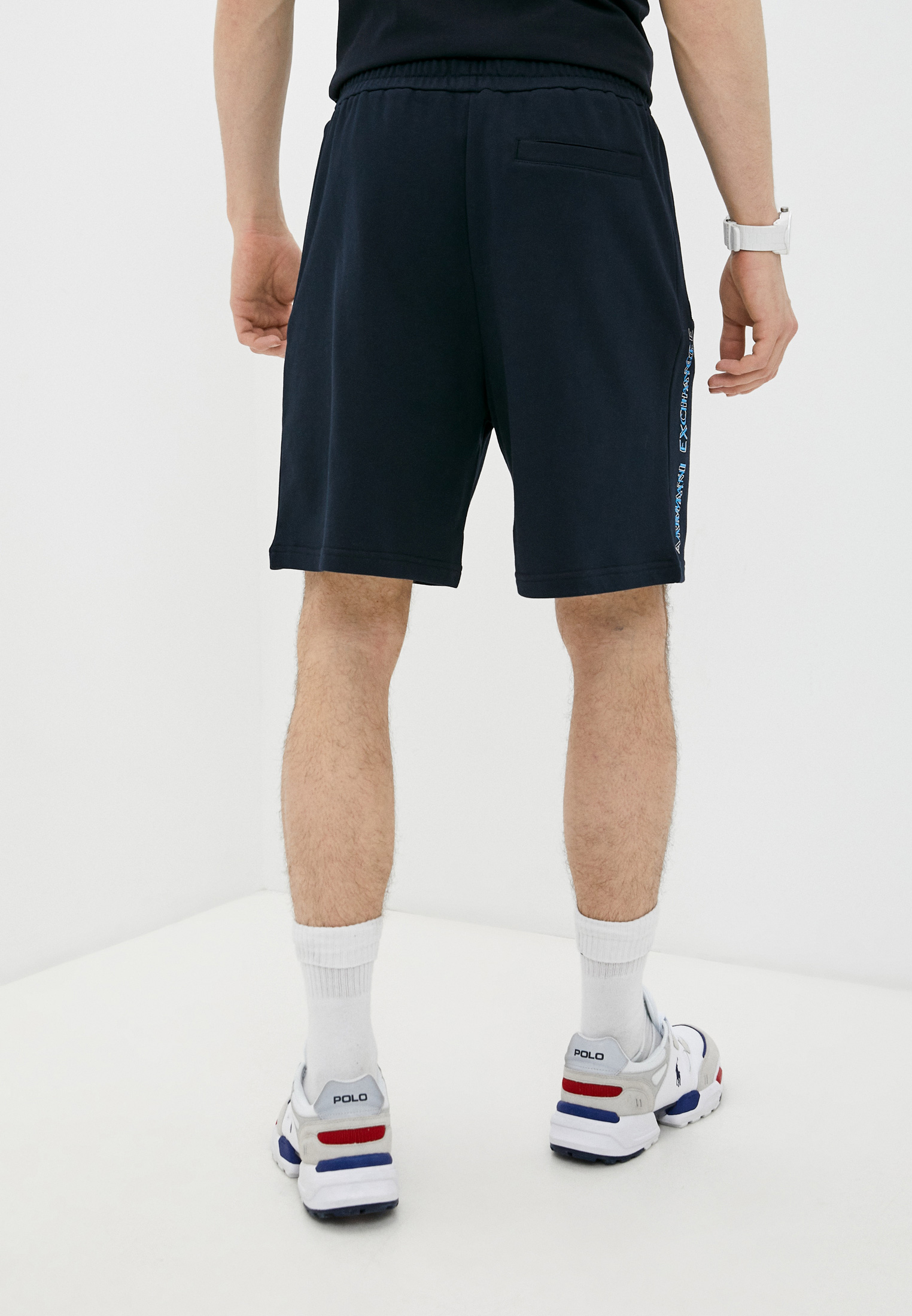 Мужские спортивные шорты Armani Exchange 3KZSGQZJ8MZ: изображение 4