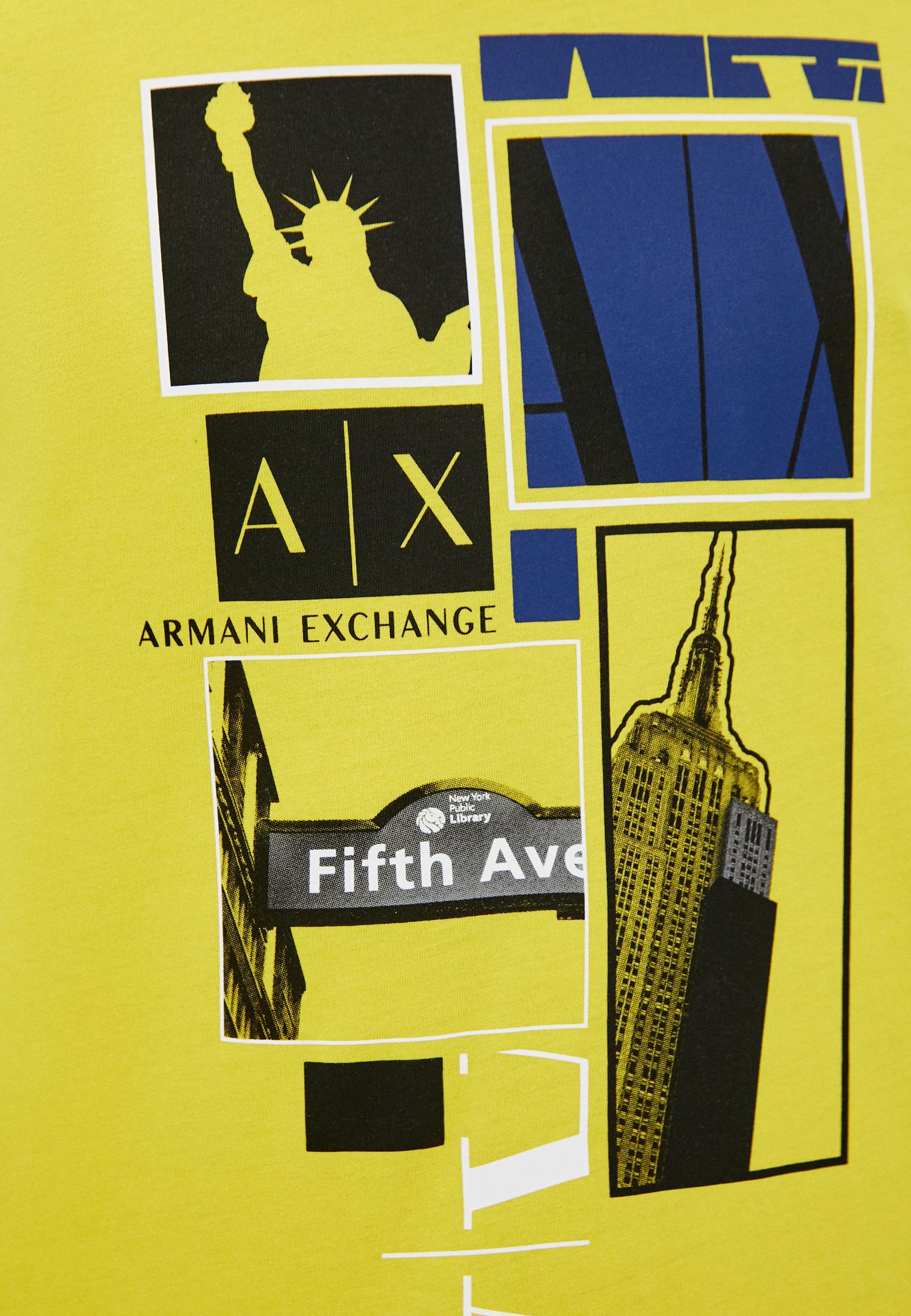 Футболка Armani Exchange 3KZTBDZJ4JZ: изображение 5