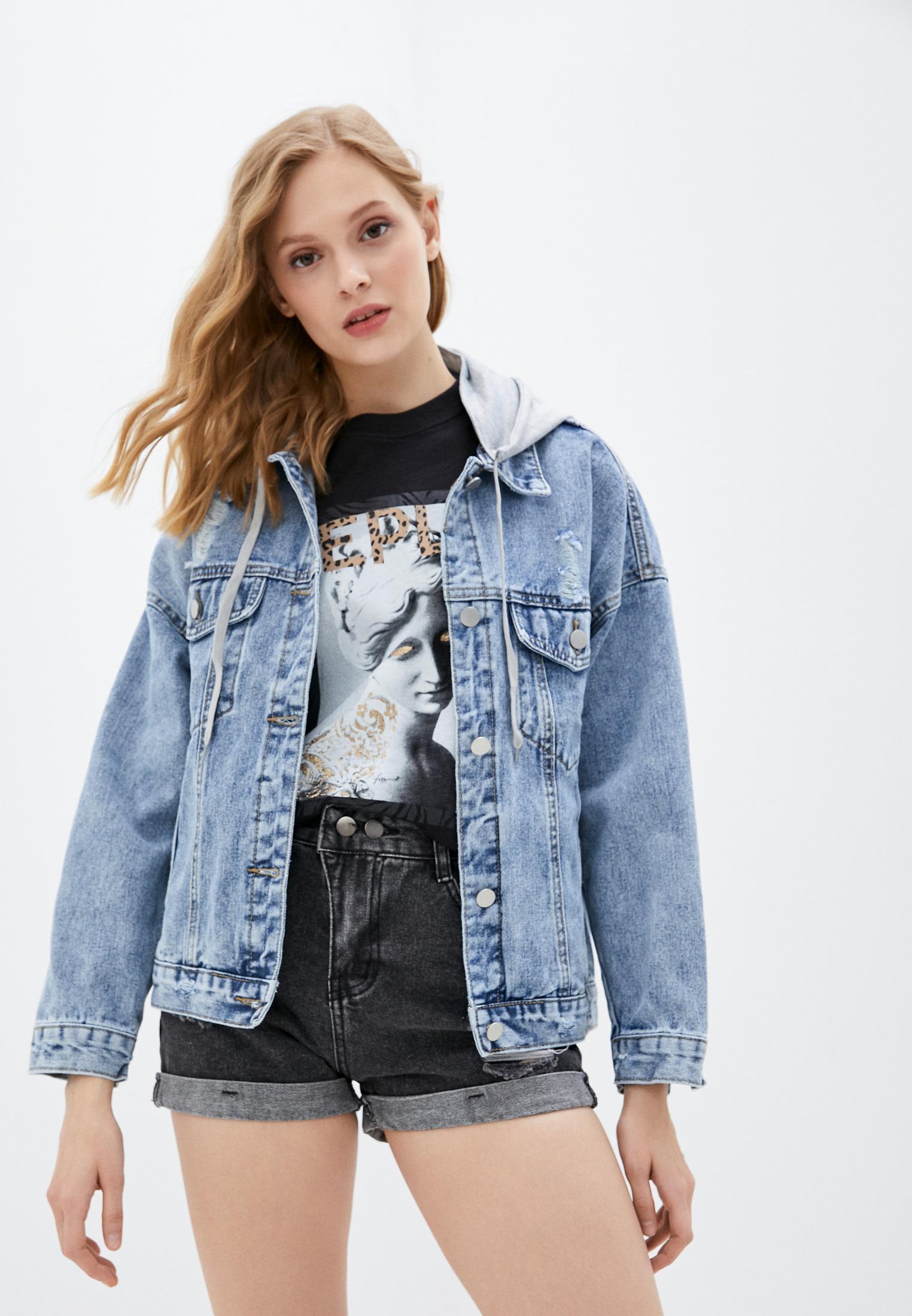 Джинсовая куртка Bad Queen Куртка джинсовая Bad Queen