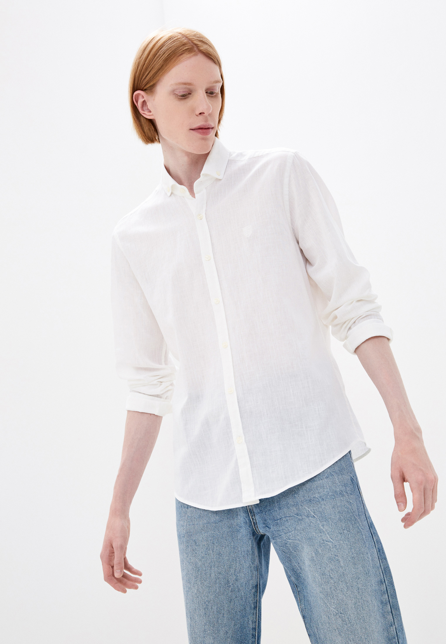 Рубашка с длинным рукавом JIMMY SANDERS (Джимми Сандерс) 20S JSMSHT0029