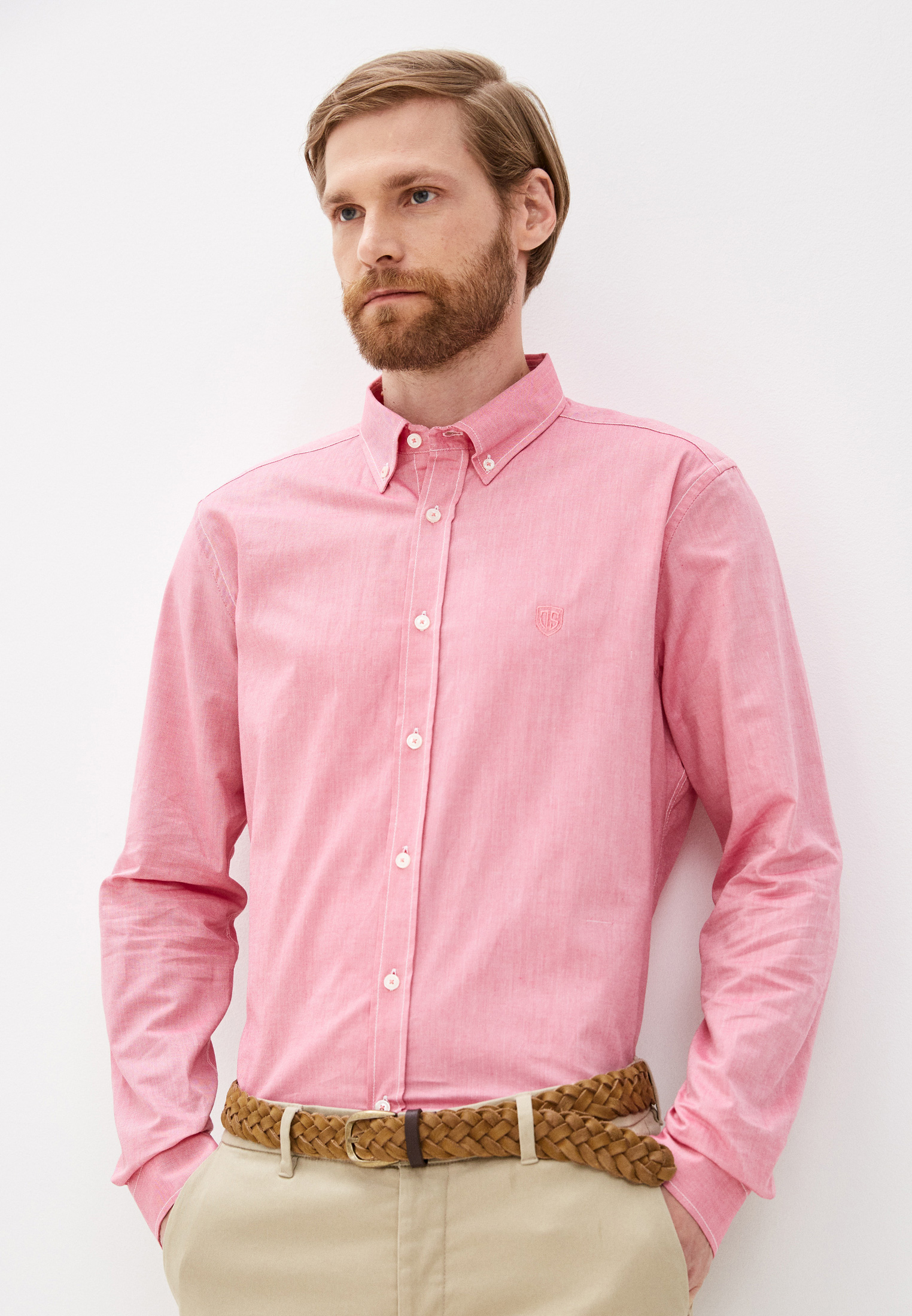 Рубашка с длинным рукавом JIMMY SANDERS (Джимми Сандерс) Рубашка Jimmy Sanders
