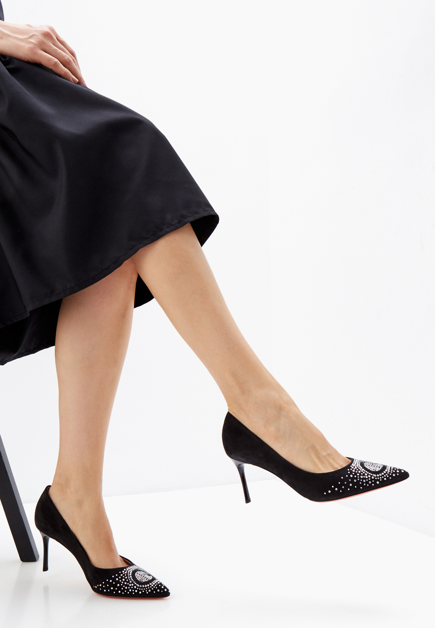 Женские туфли Baldinini (Балдинини) 165505P71E2KIDA0000: изображение 6