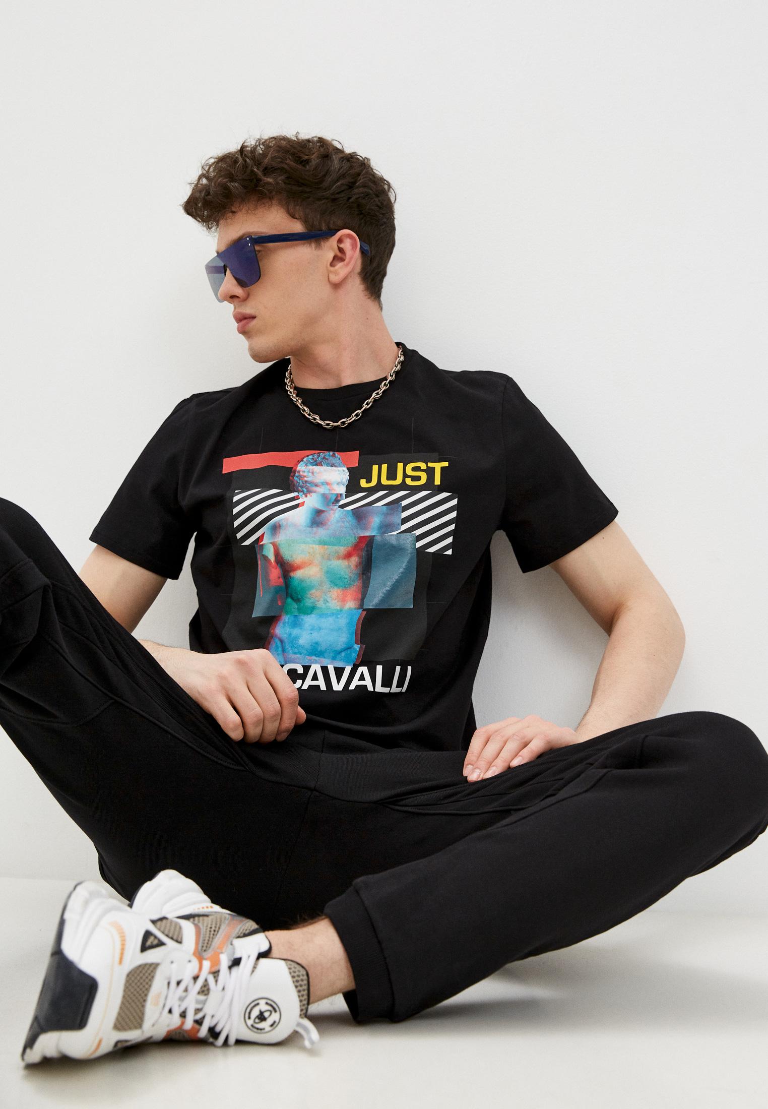 Мужская футболка Just Cavalli (Джаст Кавалли) S01GC0659N20663