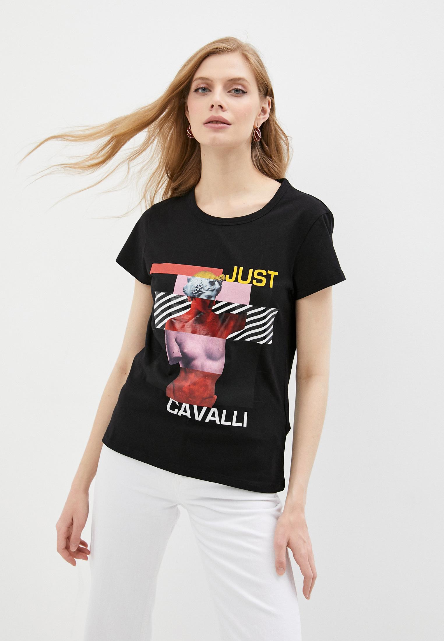 Футболка с коротким рукавом Just Cavalli (Джаст Кавалли) S02GC0425N20663