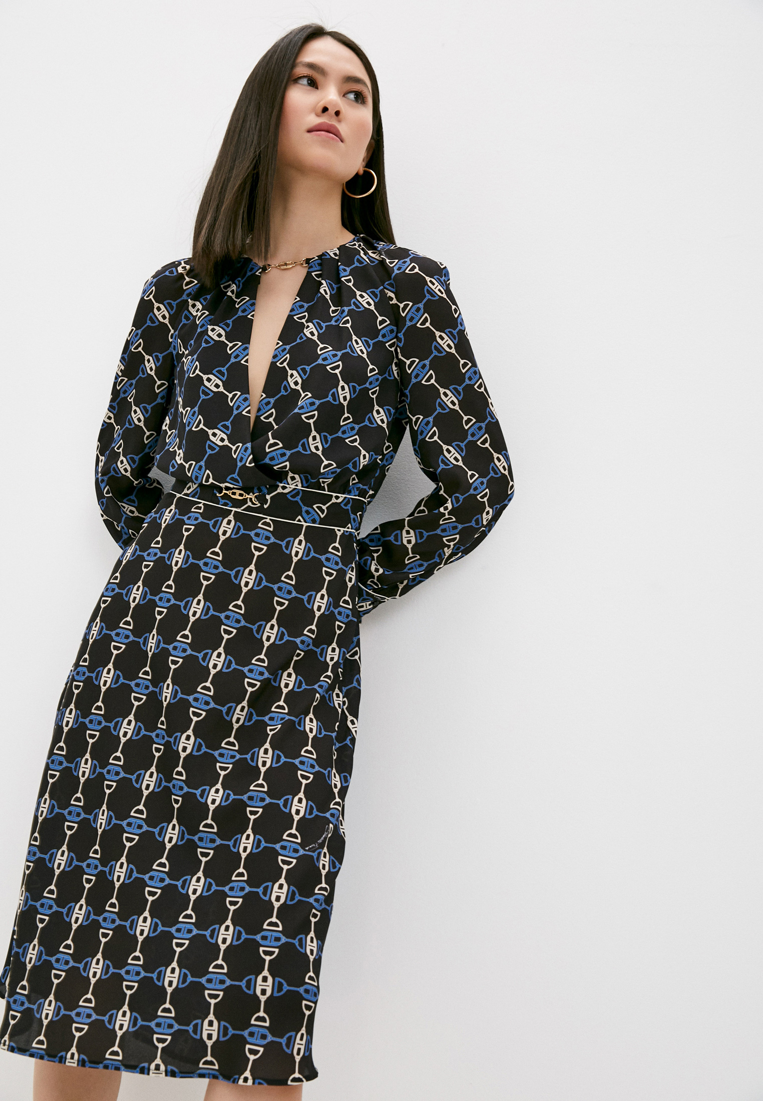 Платье Elisabetta Franchi AB07311E2