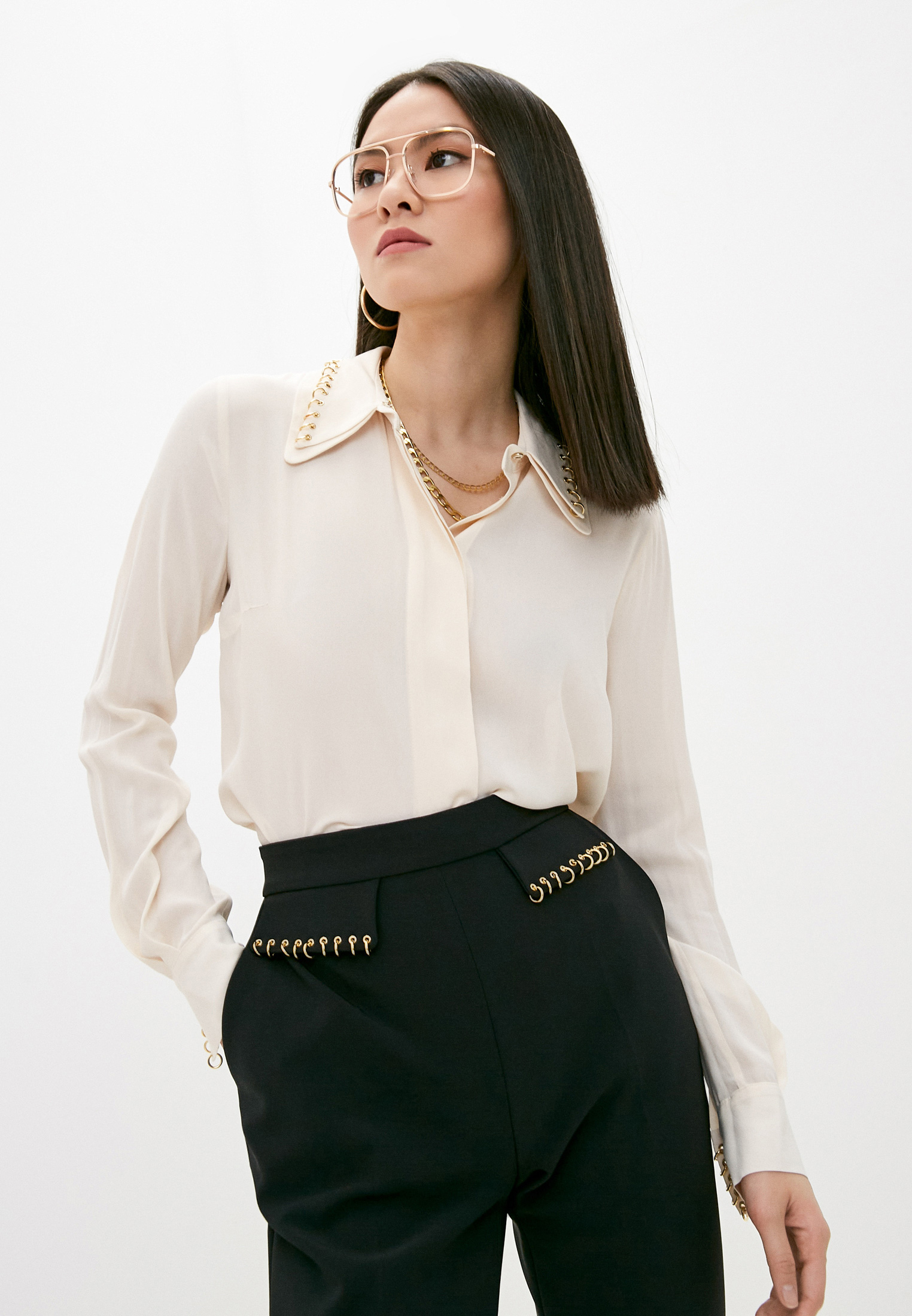 Блуза Elisabetta Franchi CA30611E2