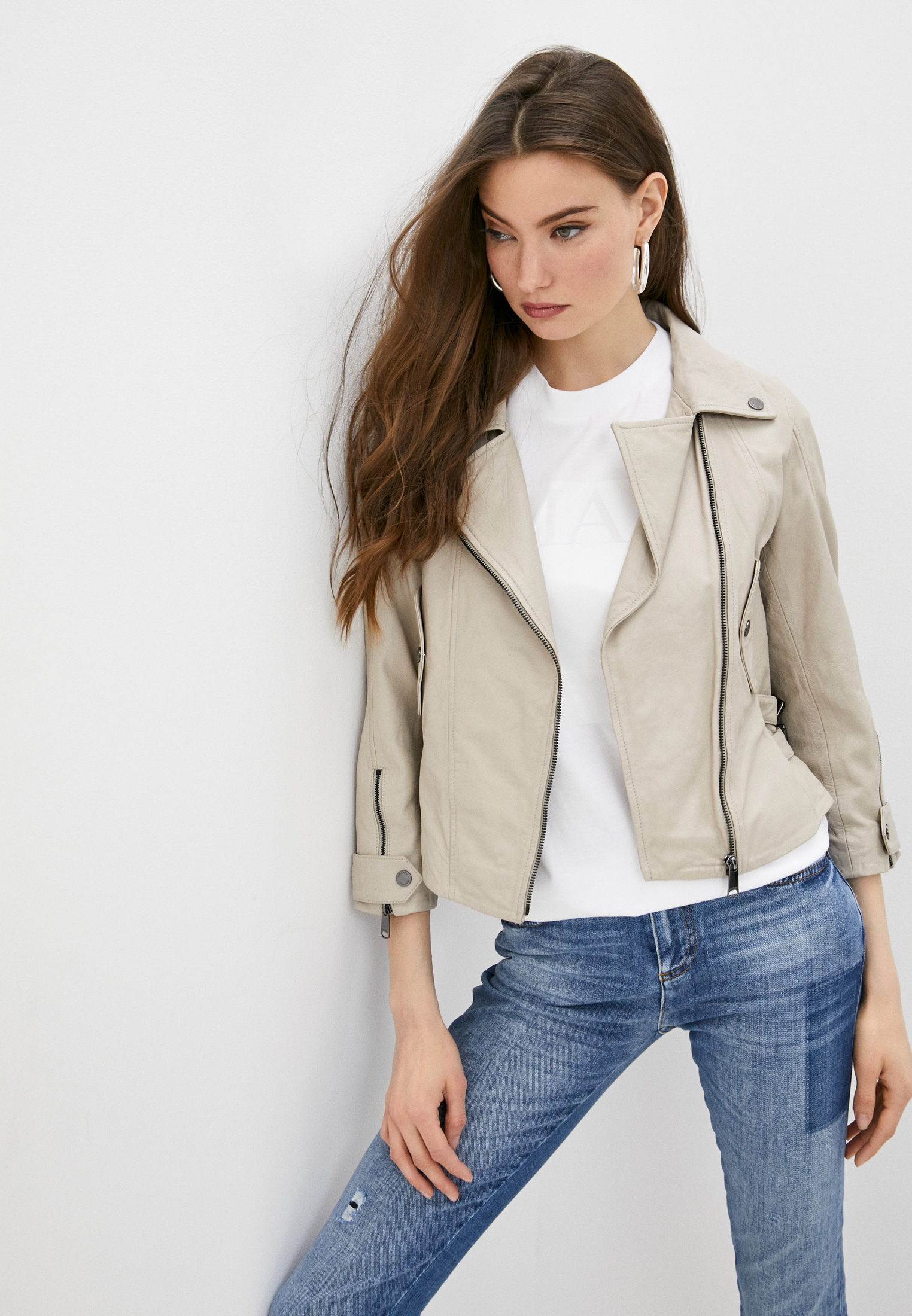 Кожаная куртка MAX&Co Куртка кожаная Max&Co