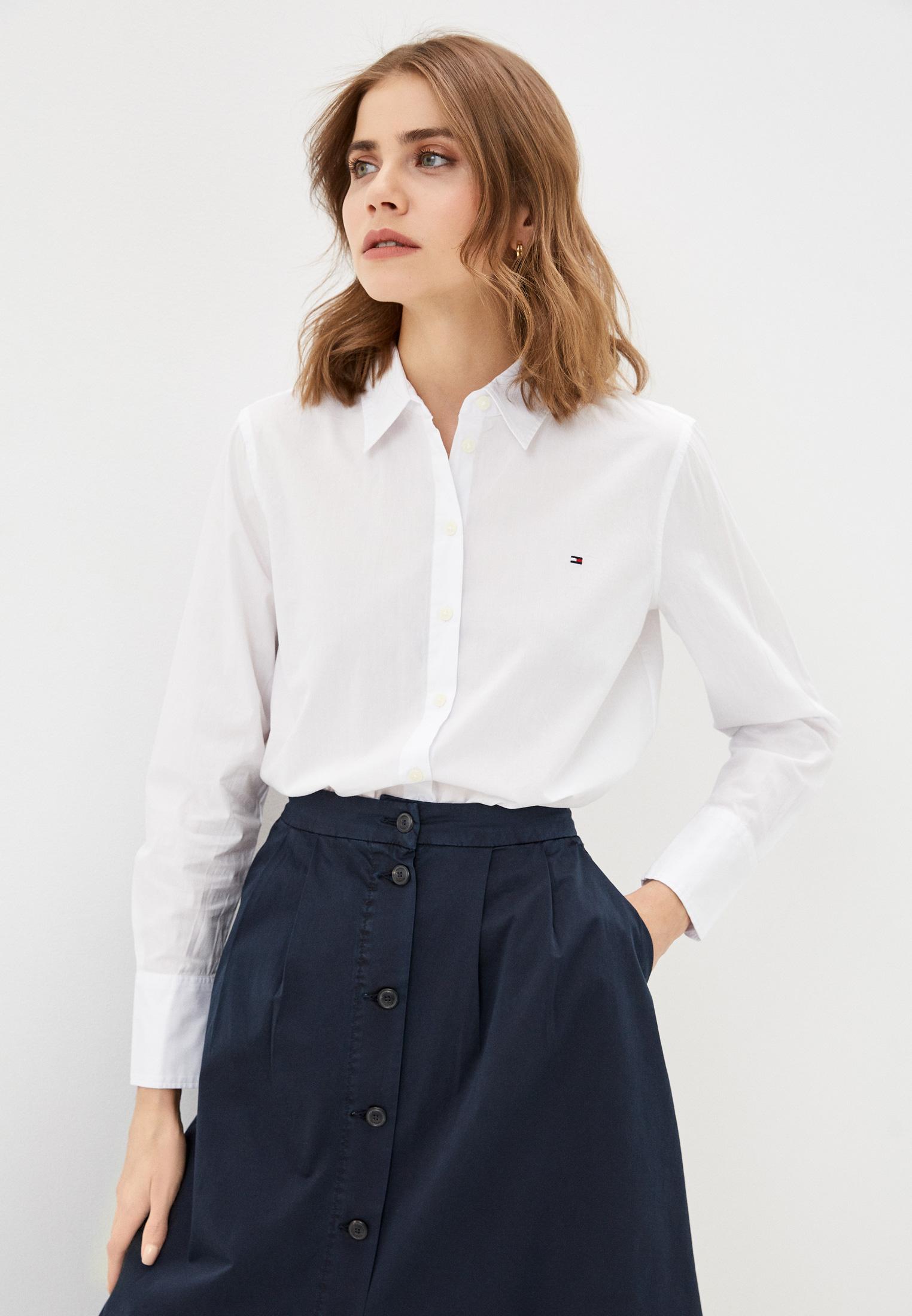 Женские рубашки с длинным рукавом Tommy Hilfiger (Томми Хилфигер) WW0WW30513