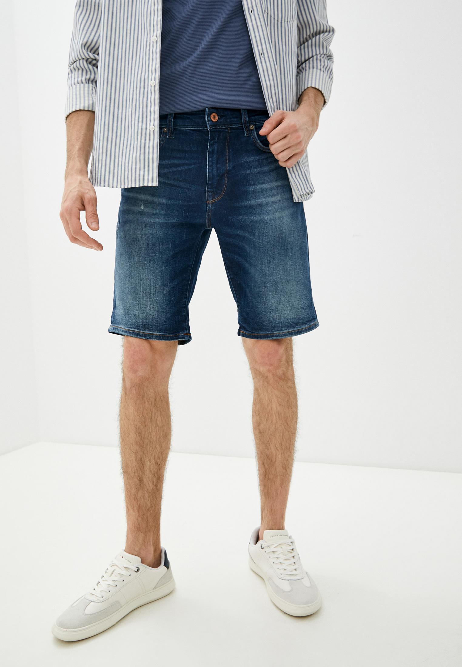 Мужские джинсовые шорты Selected Homme Шорты джинсовые Selected Homme