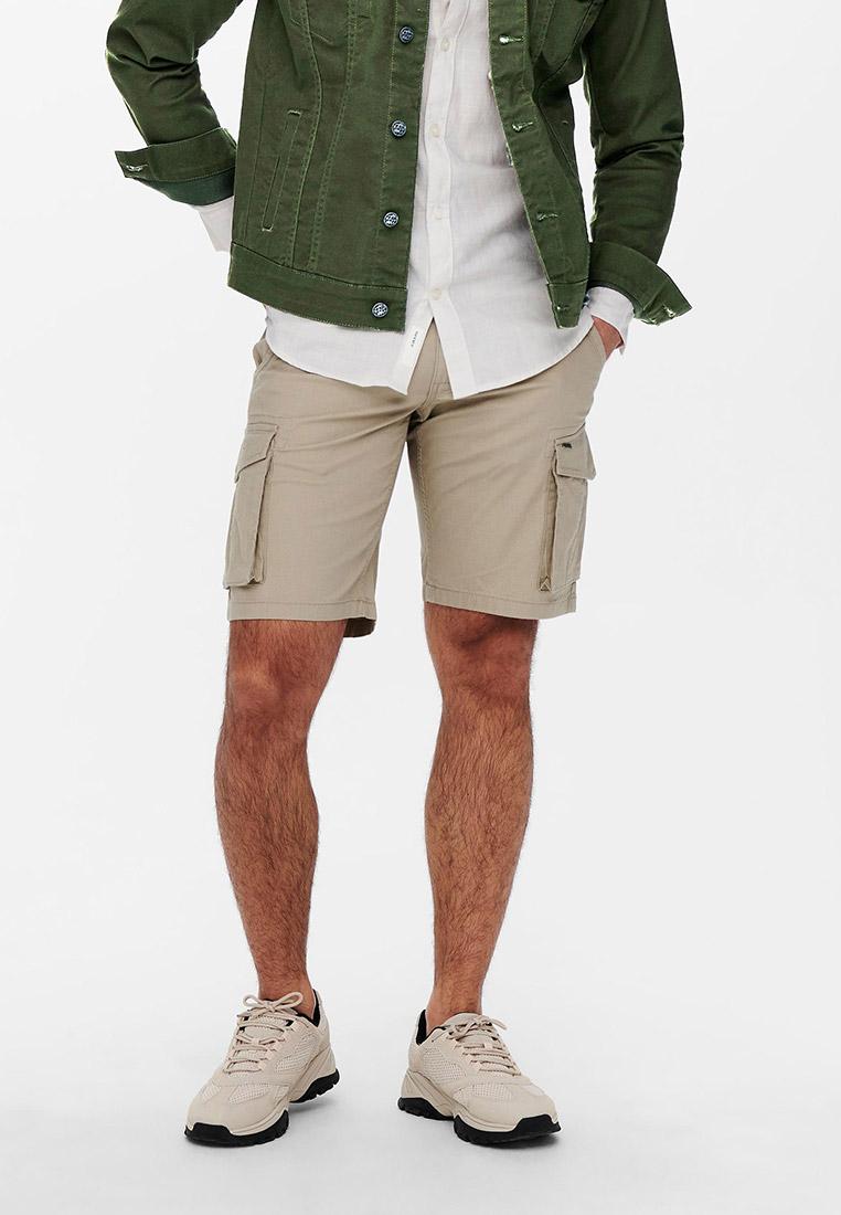 Мужские повседневные шорты Only & Sons (Онли Энд Санс) 22019487