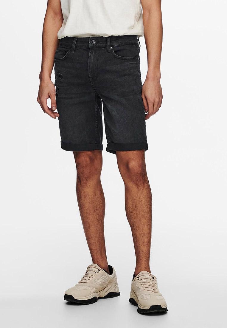Мужские джинсовые шорты Only & Sons (Онли Энд Санс) 22019562