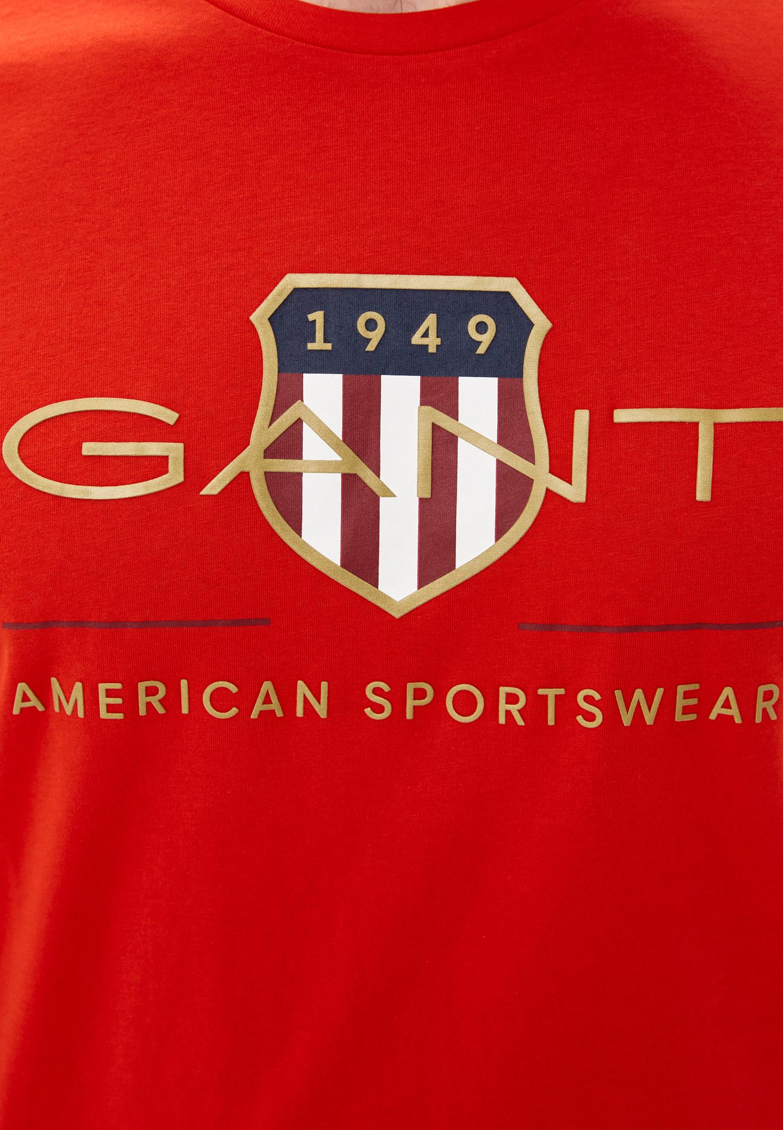 Футболка с коротким рукавом Gant (Гант) 2003099: изображение 3