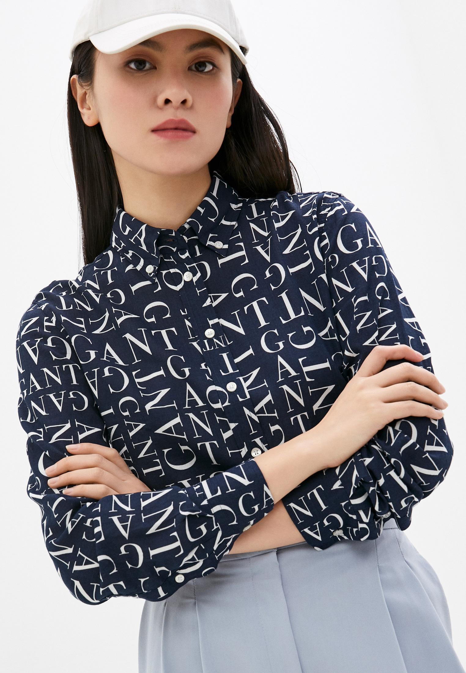 Женские рубашки с длинным рукавом Gant (Гант) Рубашка Gant